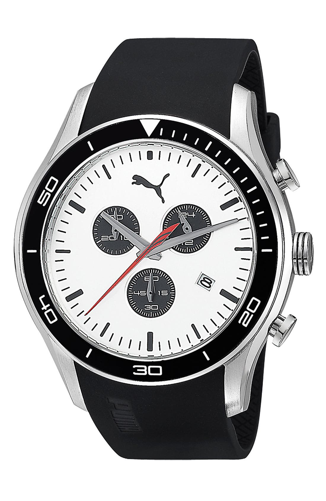Alternate Image 1 Selected - PUMA 'Ride' Chronograph Watch, 48mm