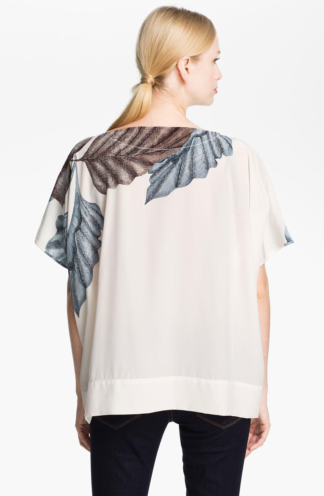 Alternate Image 2  - Diane von Furstenberg 'New Hanky' Silk Top
