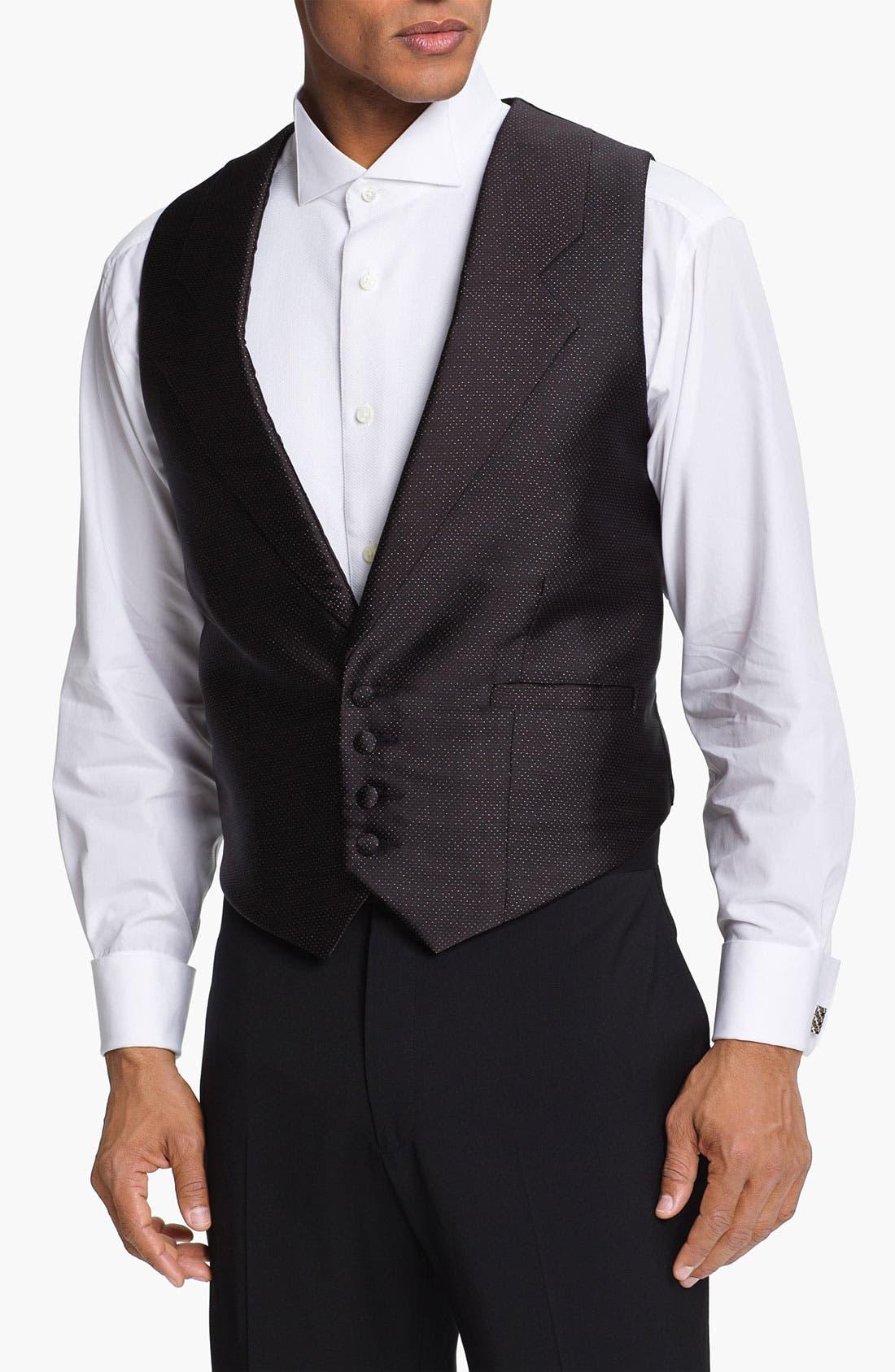 Alternate Image 1 Selected - Carrot & Gibbs Silk Vest