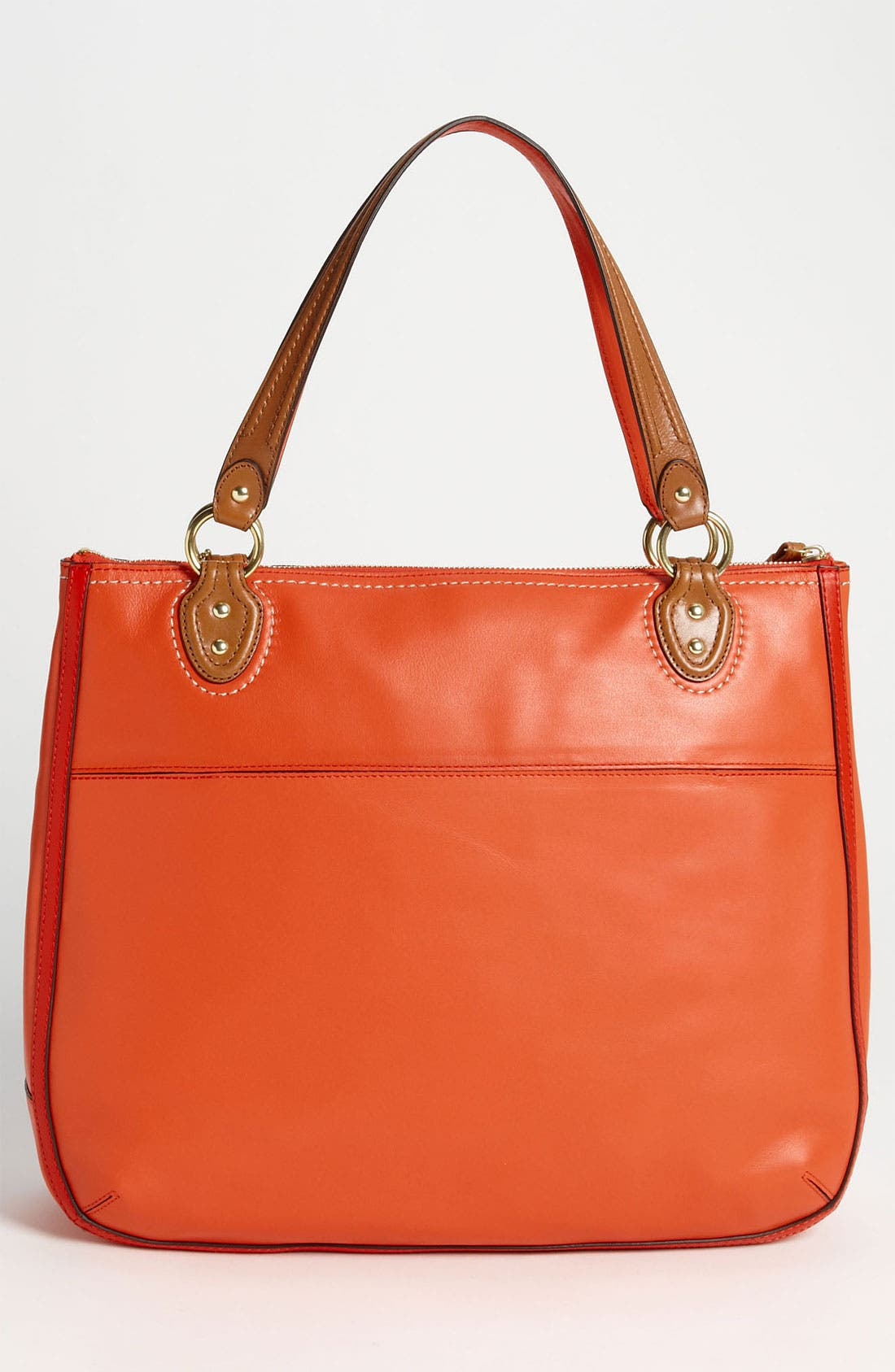 Alternate Image 4  - COACH 'Poppy Colorblock' Leather Tote
