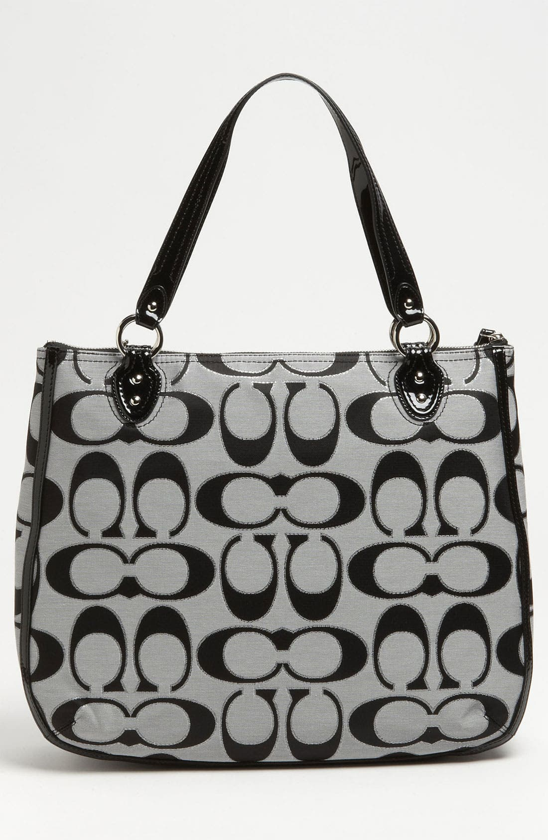 Alternate Image 4  - COACH 'Poppy Signature Metallic - Ella' Tote