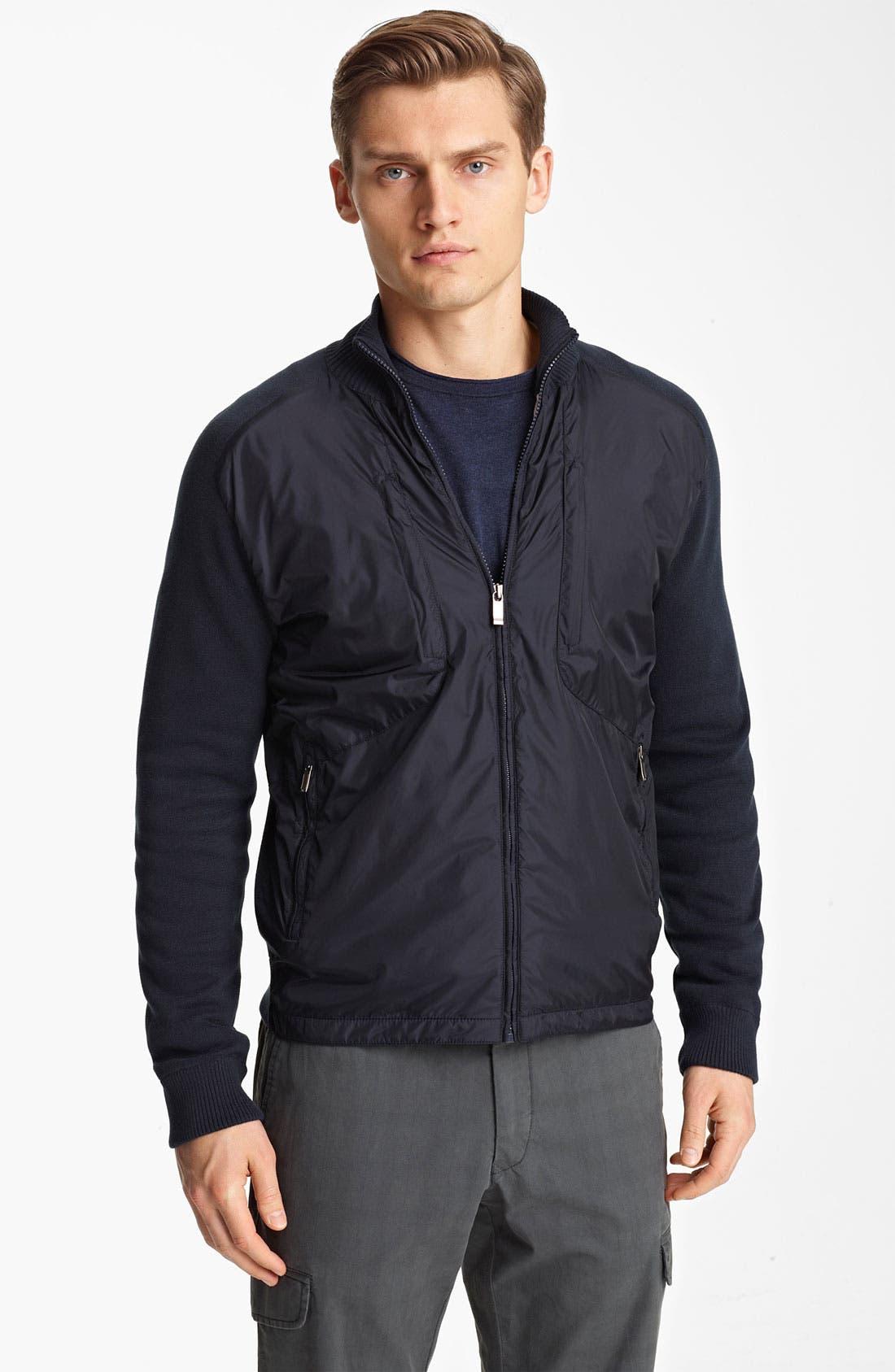 Alternate Image 1 Selected - Zegna Sport Water Repellent Jacket