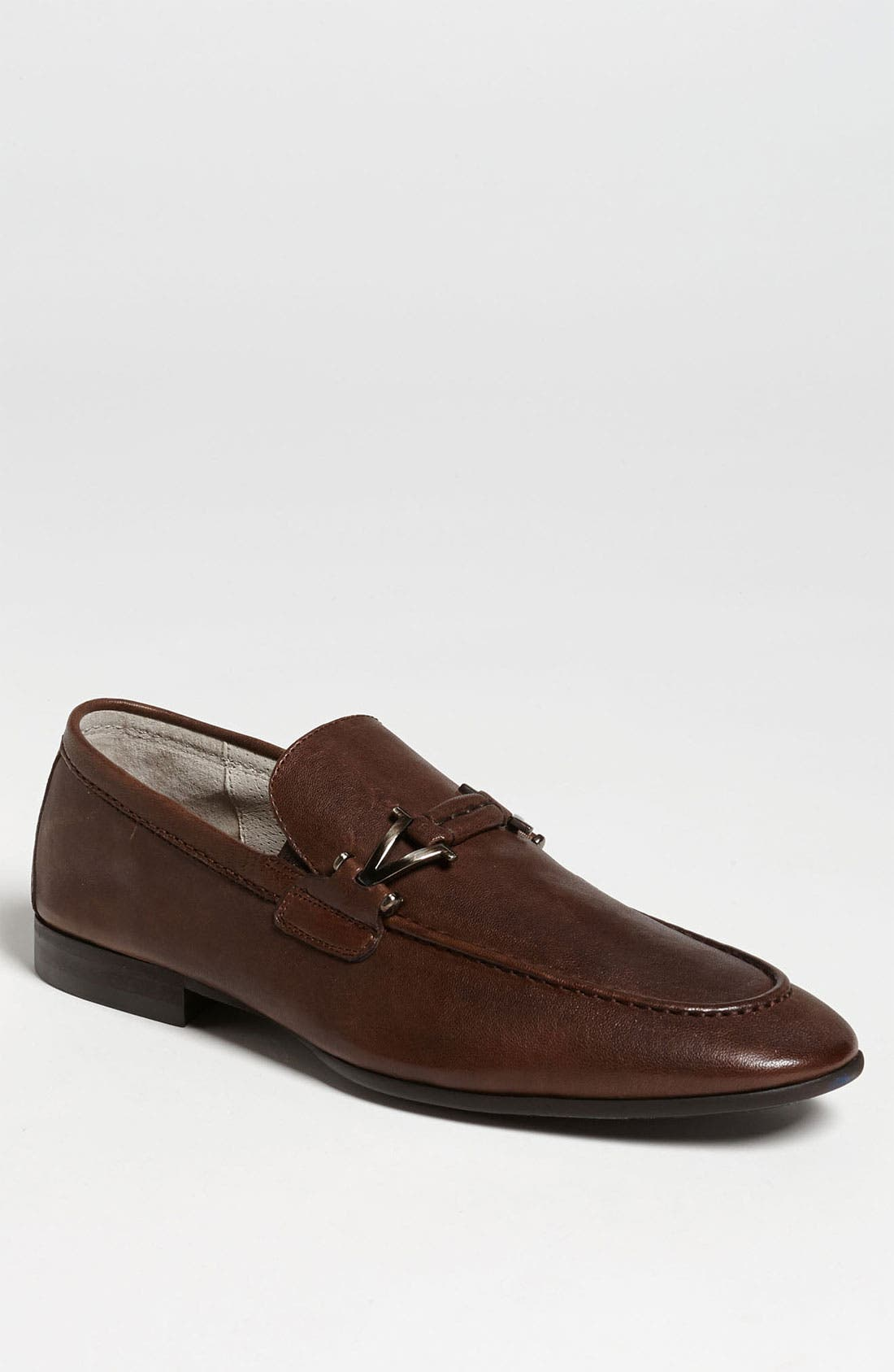 Alternate Image 1 Selected - Vince Camuto 'Castell' Leather Bit Loafer