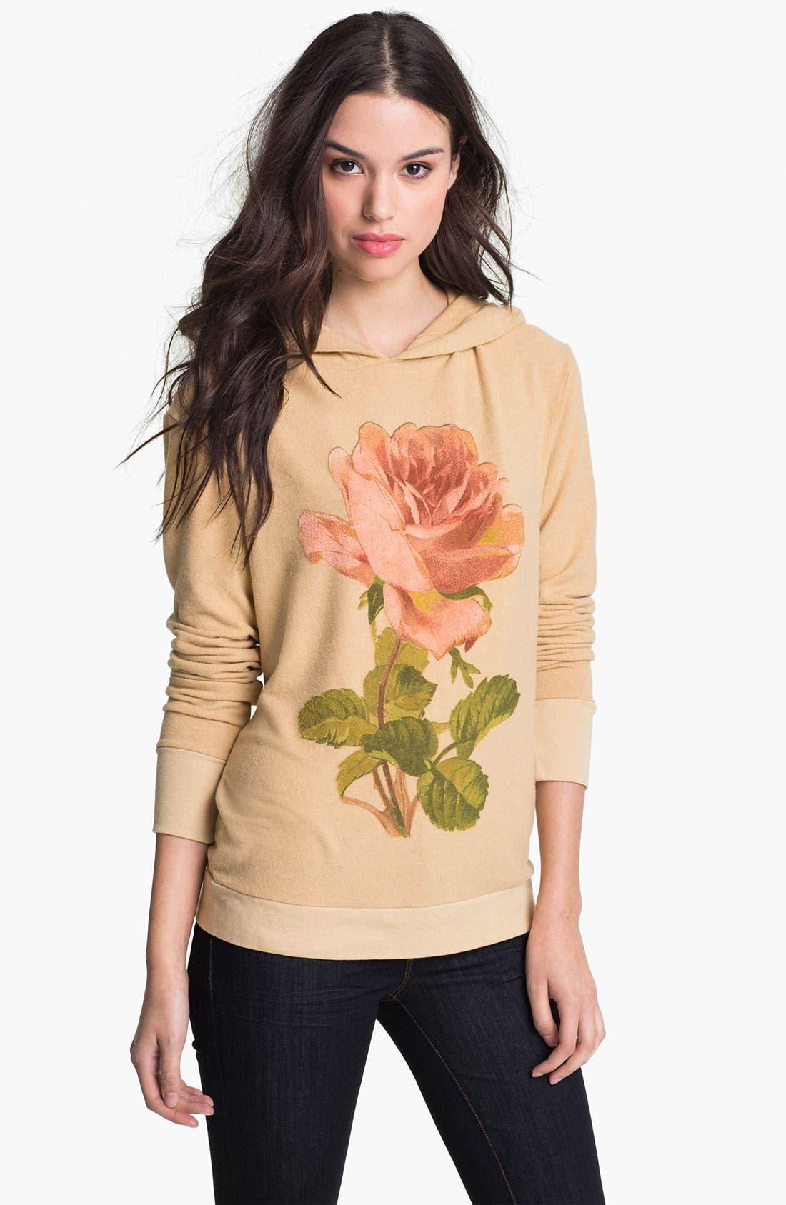 Alternate Image 1 Selected - Wildfox 'Ophelia' Graphic Hoodie