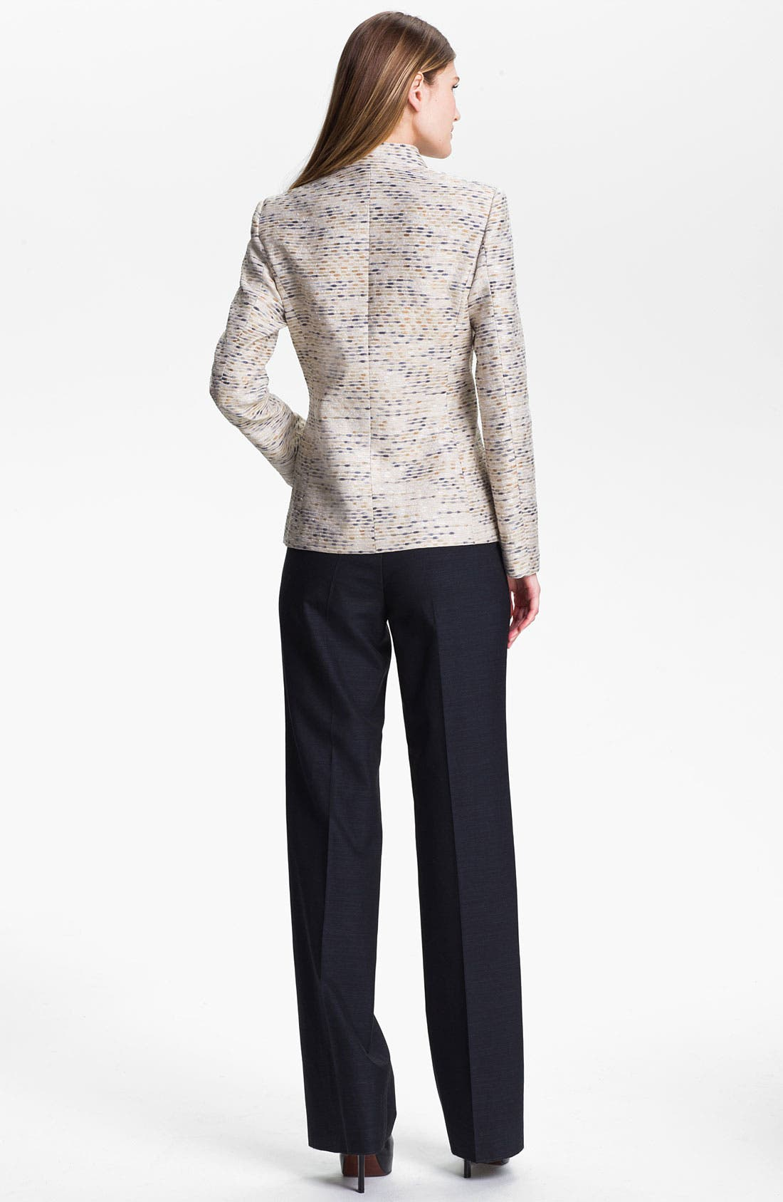 Alternate Image 5  - Santorelli Abstract Tweed Jacket