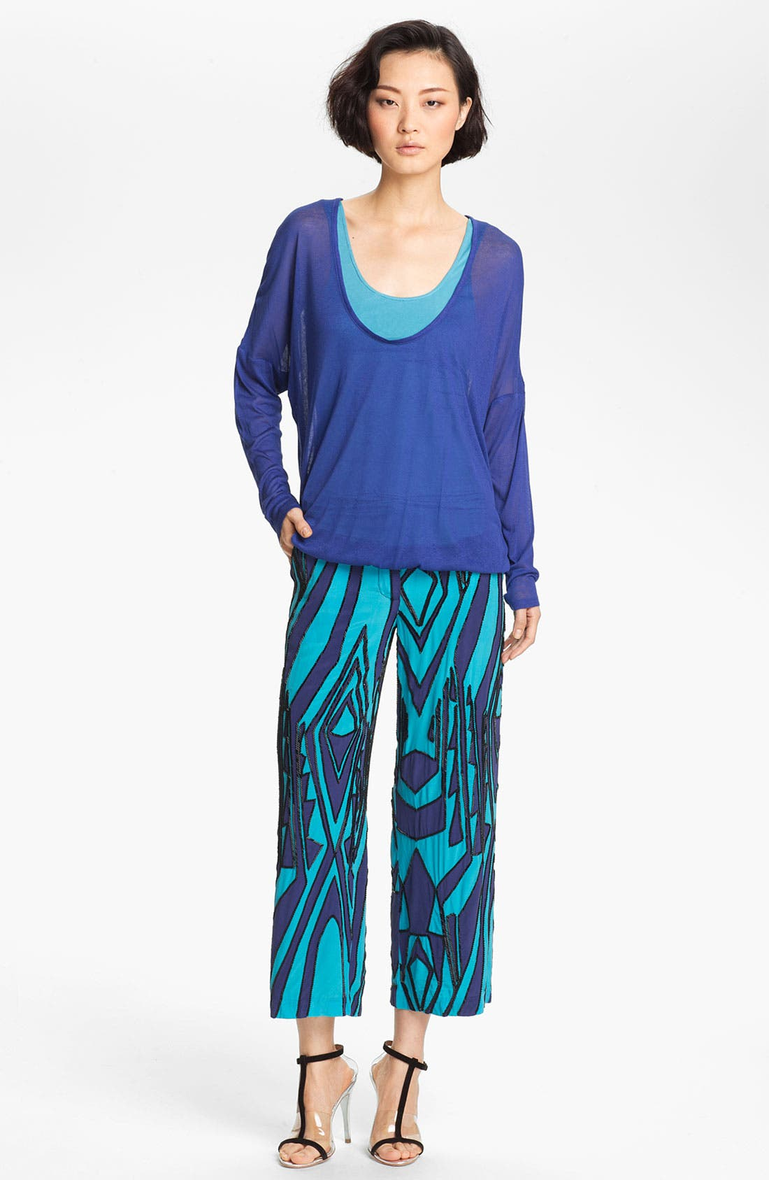 Alternate Image 1 Selected - Tracy Reese Dolman Sleeve Jersey Top