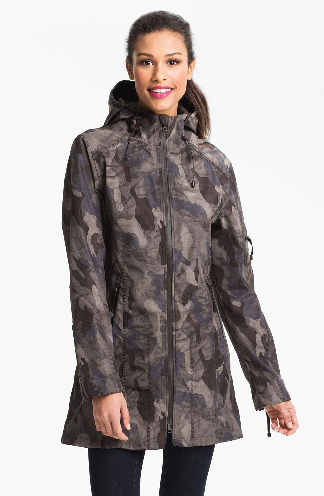 Main Image - Ilse Jacobsen Hooded Raincoat