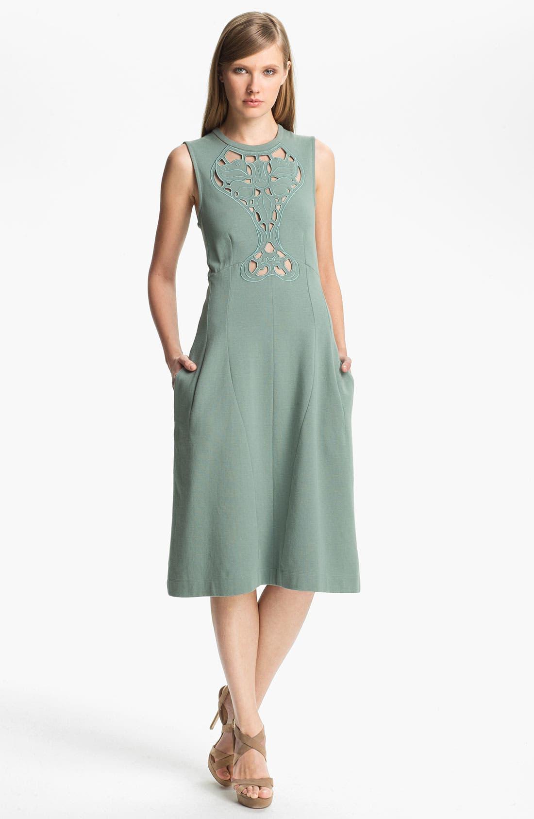 Alternate Image 1 Selected - Carven Cutout Detail Dress