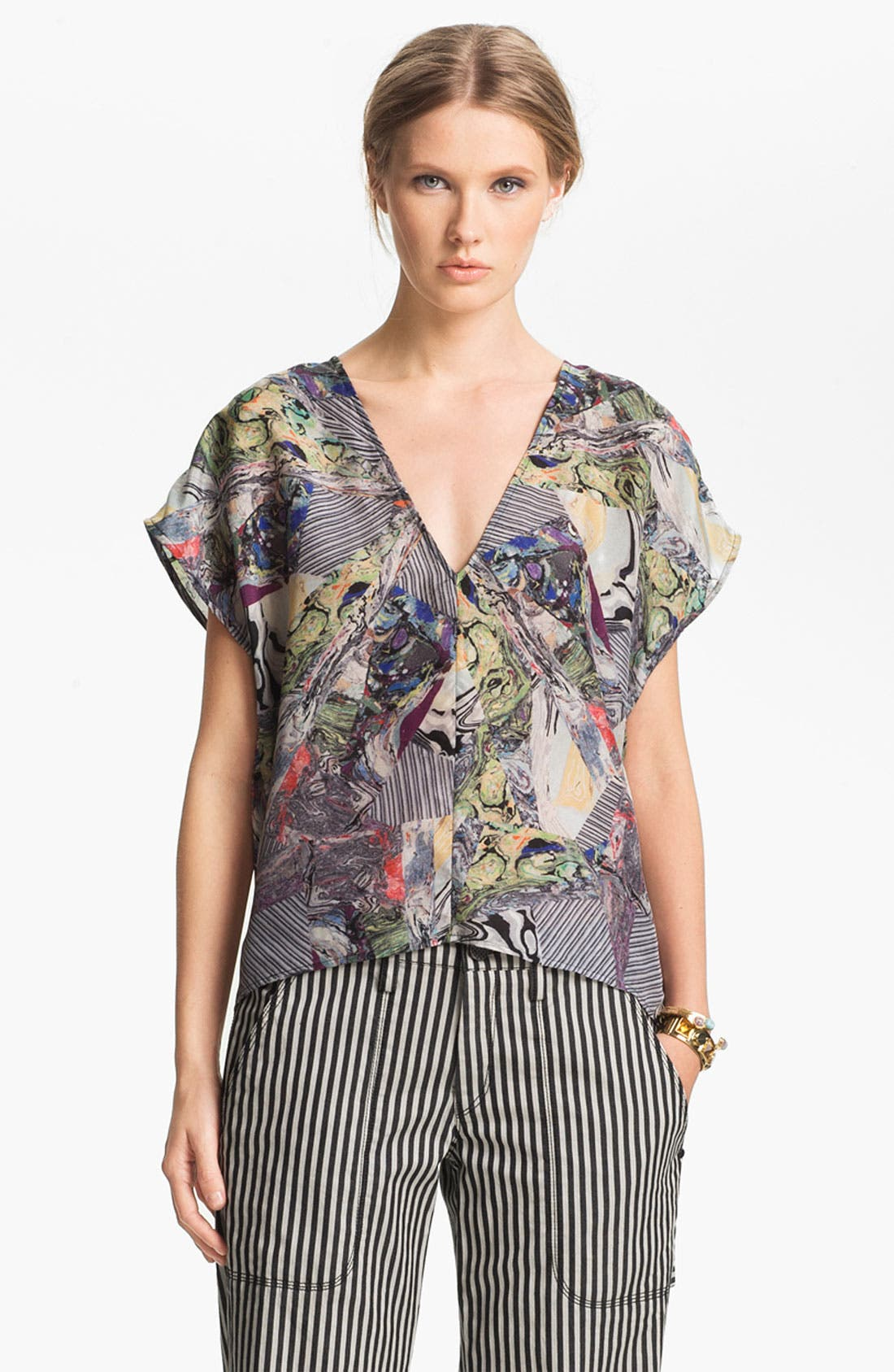 Alternate Image 2  - Kelly Wearstler 'Alchemy' Silk Top