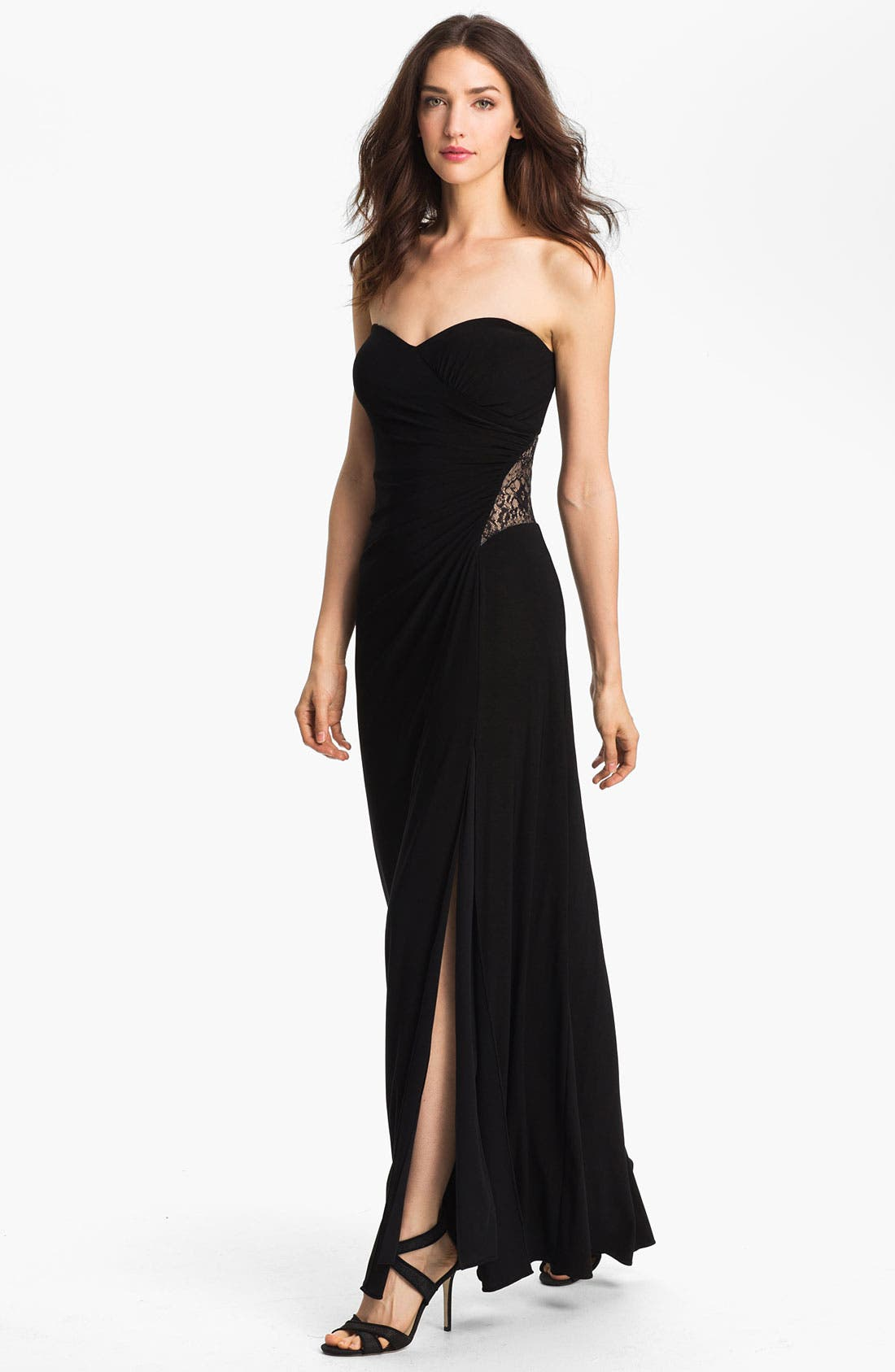 Main Image - Hailey by Adrianna Papell Embellished Jersey Gown