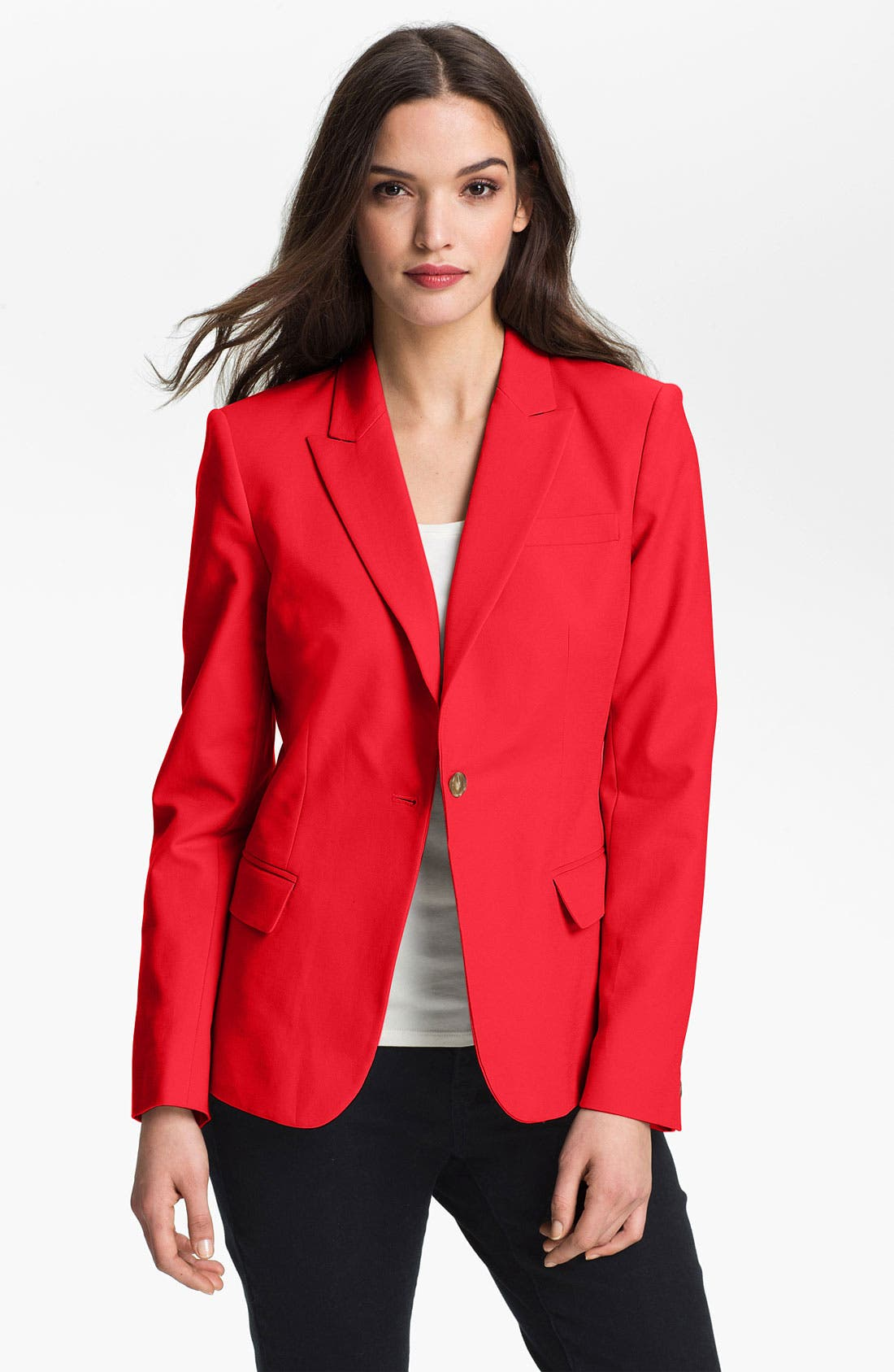 Alternate Image 1 Selected - Chaus One Button Blazer
