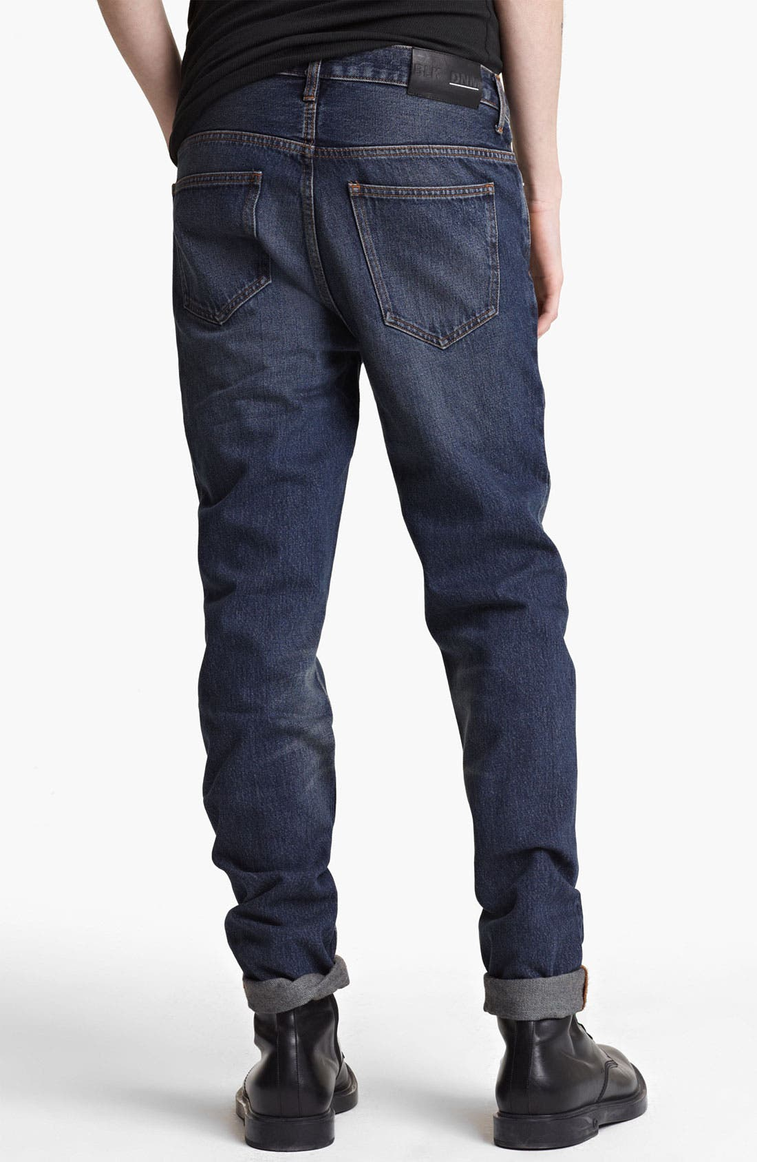 Alternate Image 2  - BLK DNM 'Jeans 9' Straight Leg Jeans (Stone Blue)