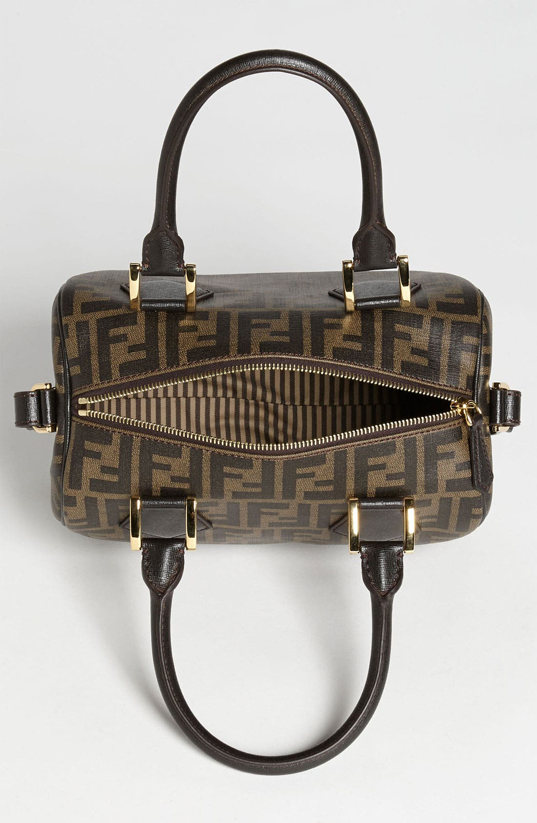 Alternate Image 3  - Fendi 'Zucca - Small' Boston Bag