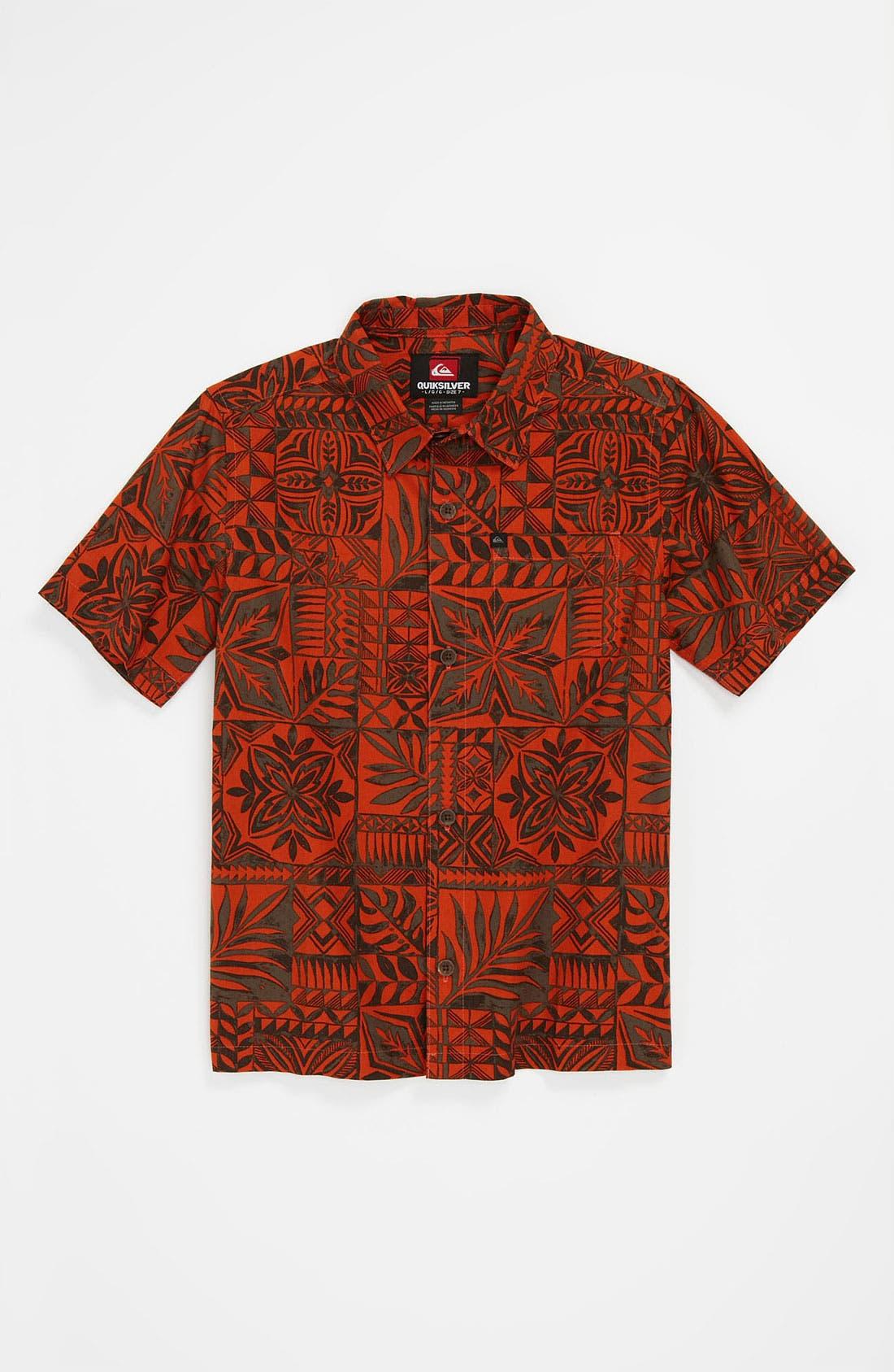 Alternate Image 1 Selected - Quiksilver 'Olulu' Shirt (Little Boys)