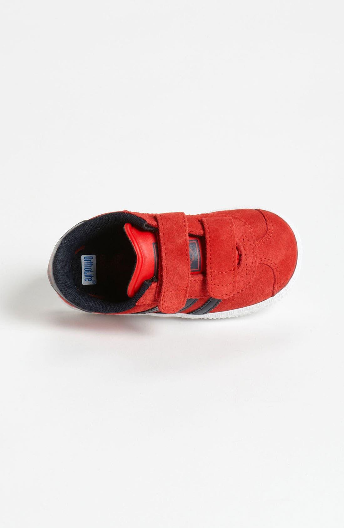 Alternate Image 3  - adidas 'Gazelle' Sneaker (Baby, Walker & Toddler)