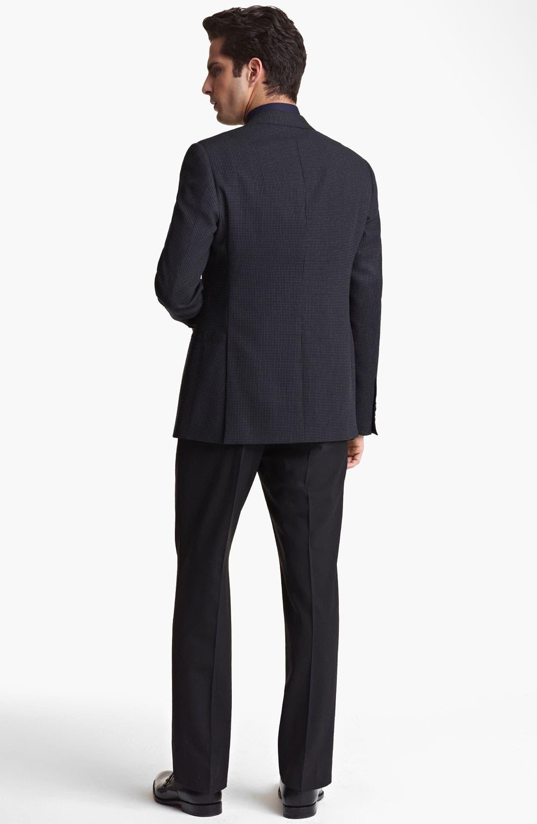 Alternate Image 5  - Armani Collezioni 'Giorgio' Trim Fit Sportcoat