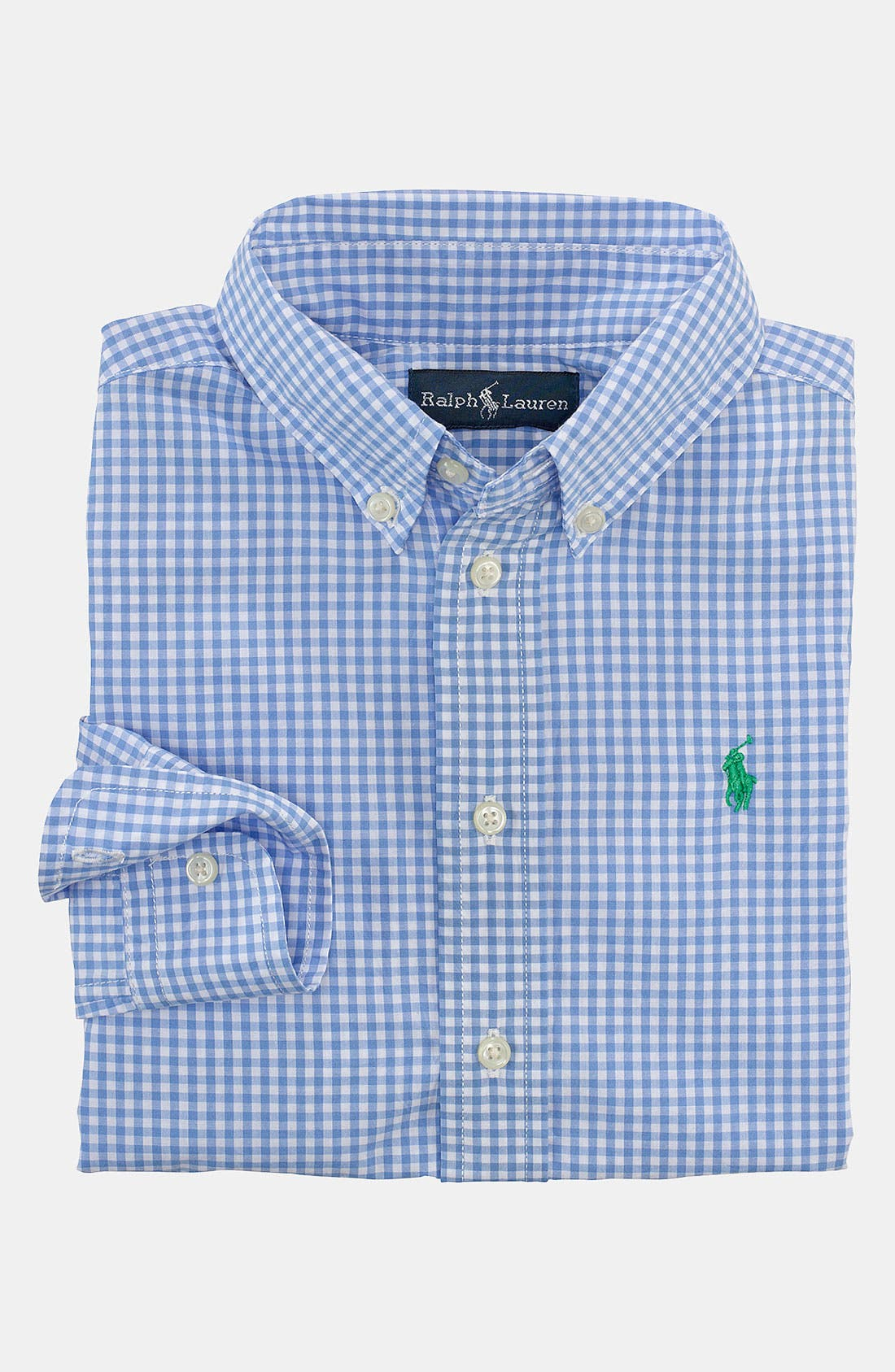 Main Image - Ralph Lauren Gingham Shirt (Toddler)