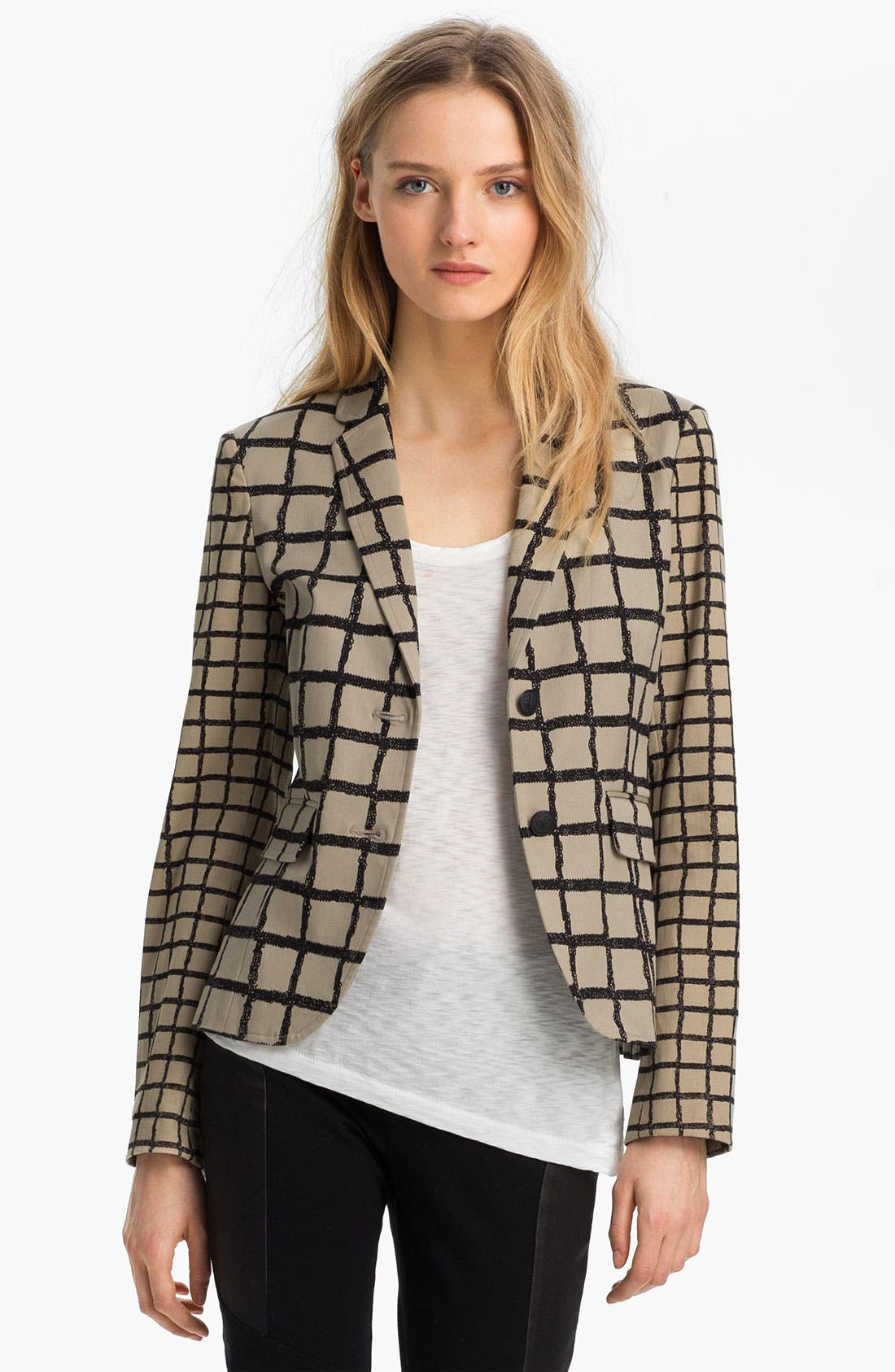 Alternate Image 2  - rag & bone 'Bailey' Windowpane Jacket