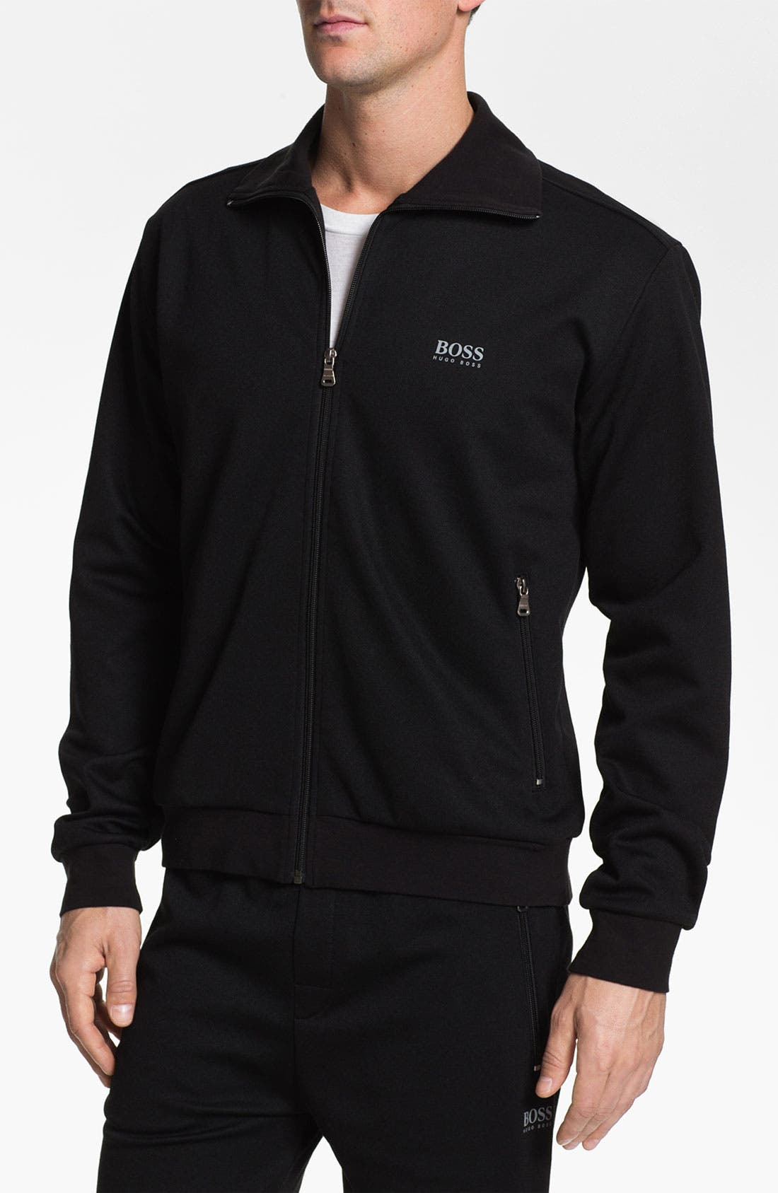 Main Image - BOSS HUGO BOSS Cotton Blend Jacket