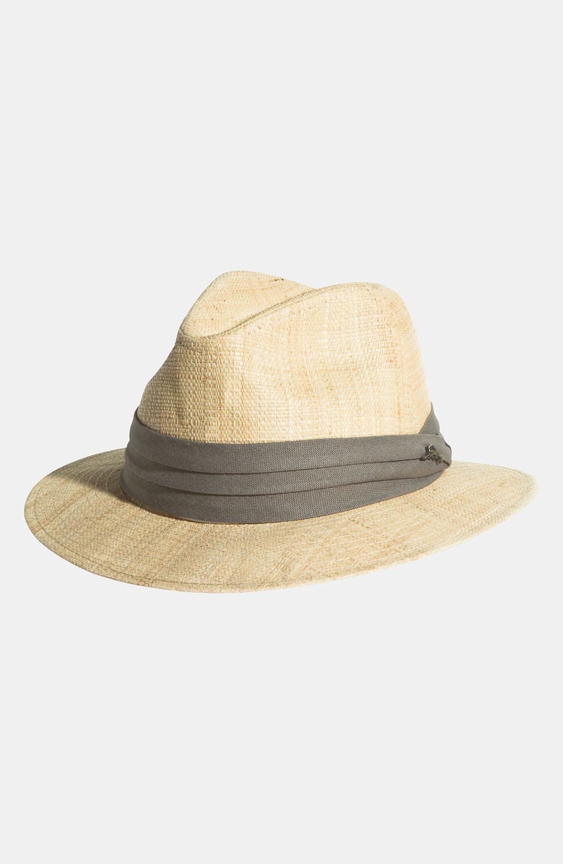 Alternate Image 1 Selected - Tommy Bahama 'Rough Cotton' Raffia Fedora