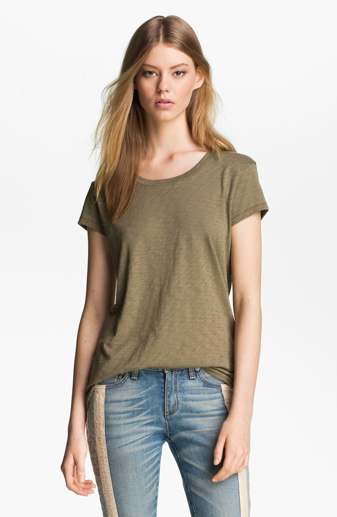 Alternate Image 1 Selected - rag & bone/JEAN 'The Basic Brando' Tee