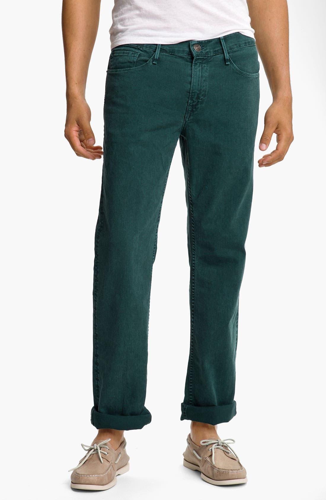 Alternate Image 1 Selected - Earnest Sewn 'Fulton' Straight Leg Twill Pants