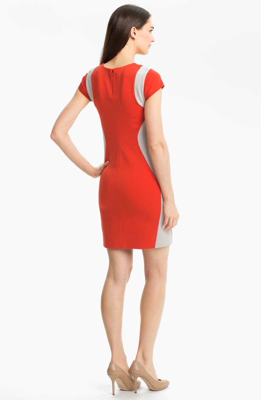 Alternate Image 2  - Diane von Furstenberg 'Pele' Knit Sheath Dress