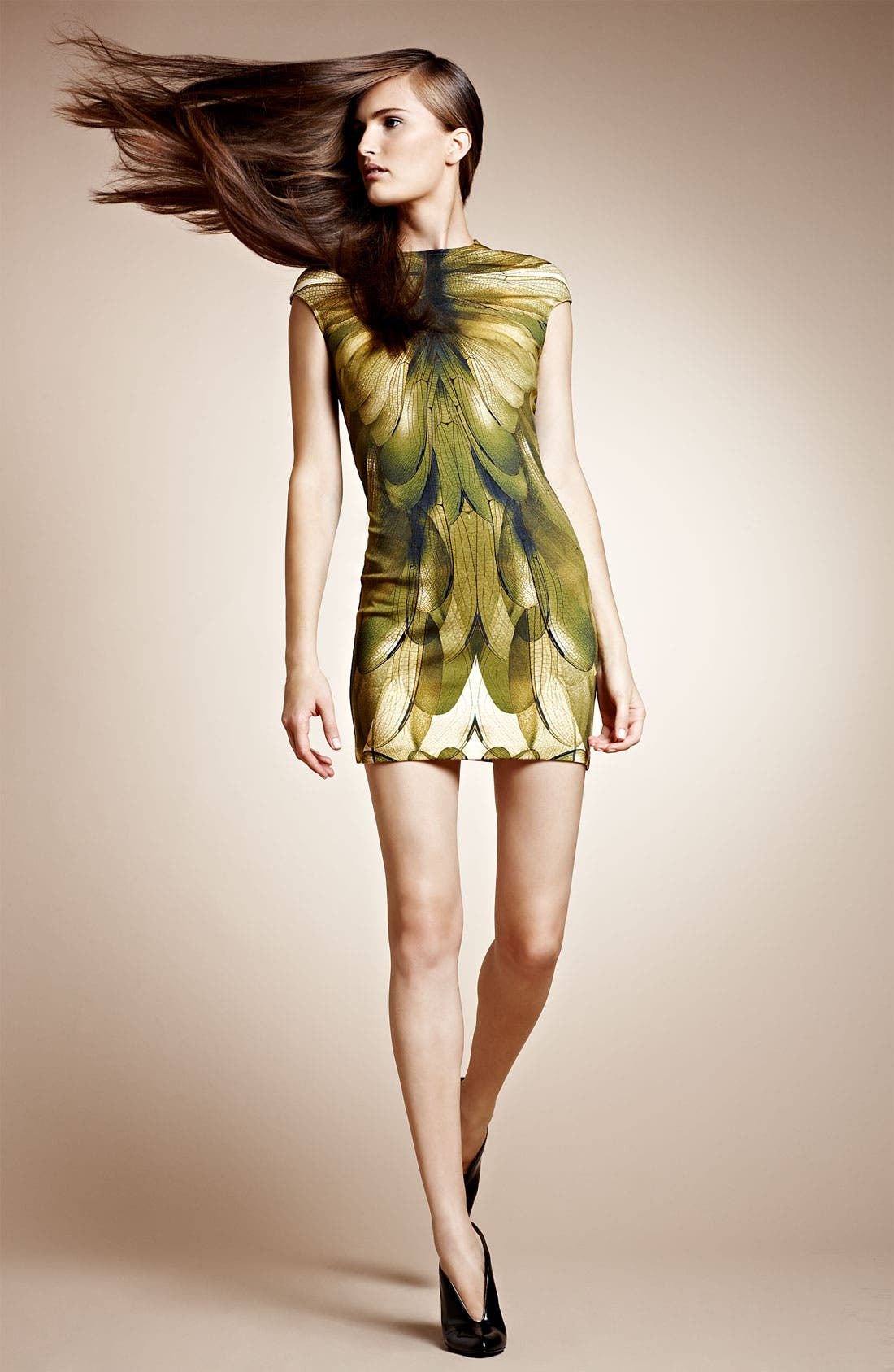 Alternate Image 4  - McQ by Alexander McQueen Cap Sleeve Dress