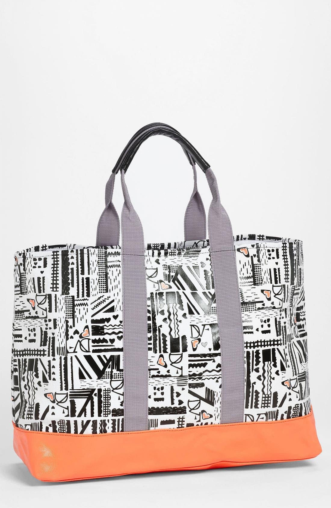 Alternate Image 1 Selected - 'DVF Loves Roxy' Tote Bag