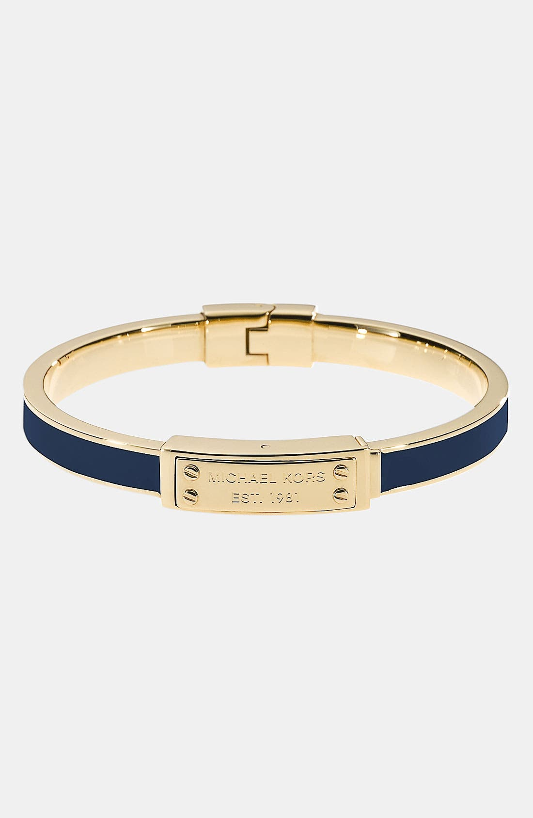 Alternate Image 1 Selected - Michael Kors Hinged Bangle