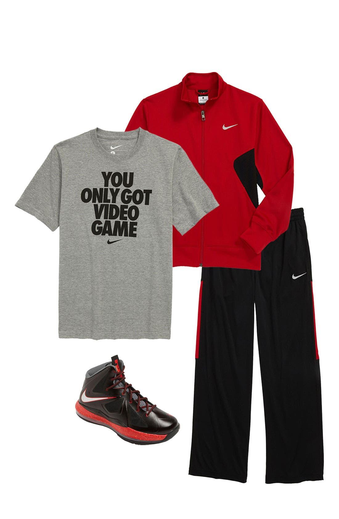 Alternate Image 2  - Nike Dri-FIT Jacket (Big Boys)