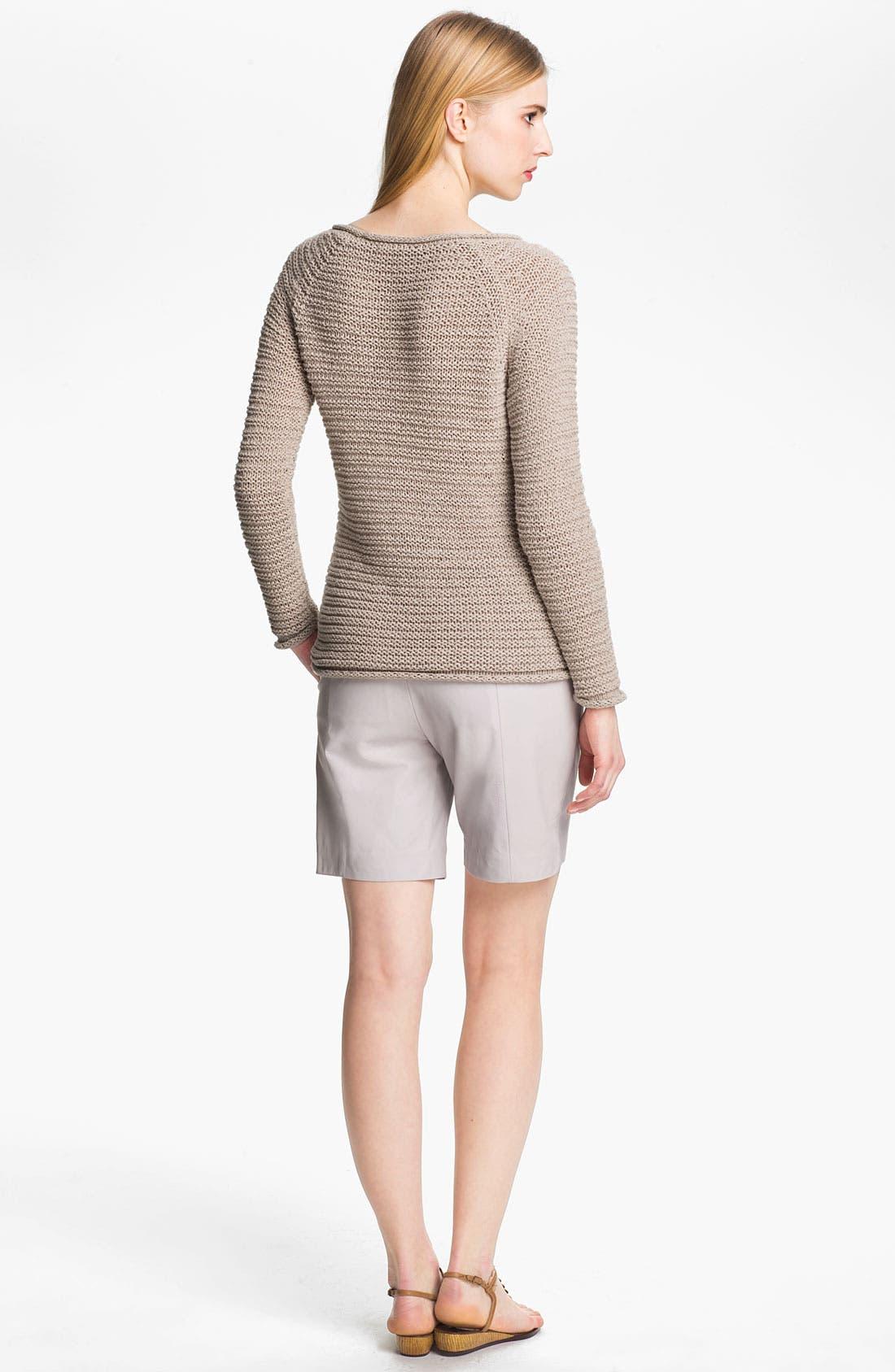 Alternate Image 4  - Halston Heritage Raglan Sweater