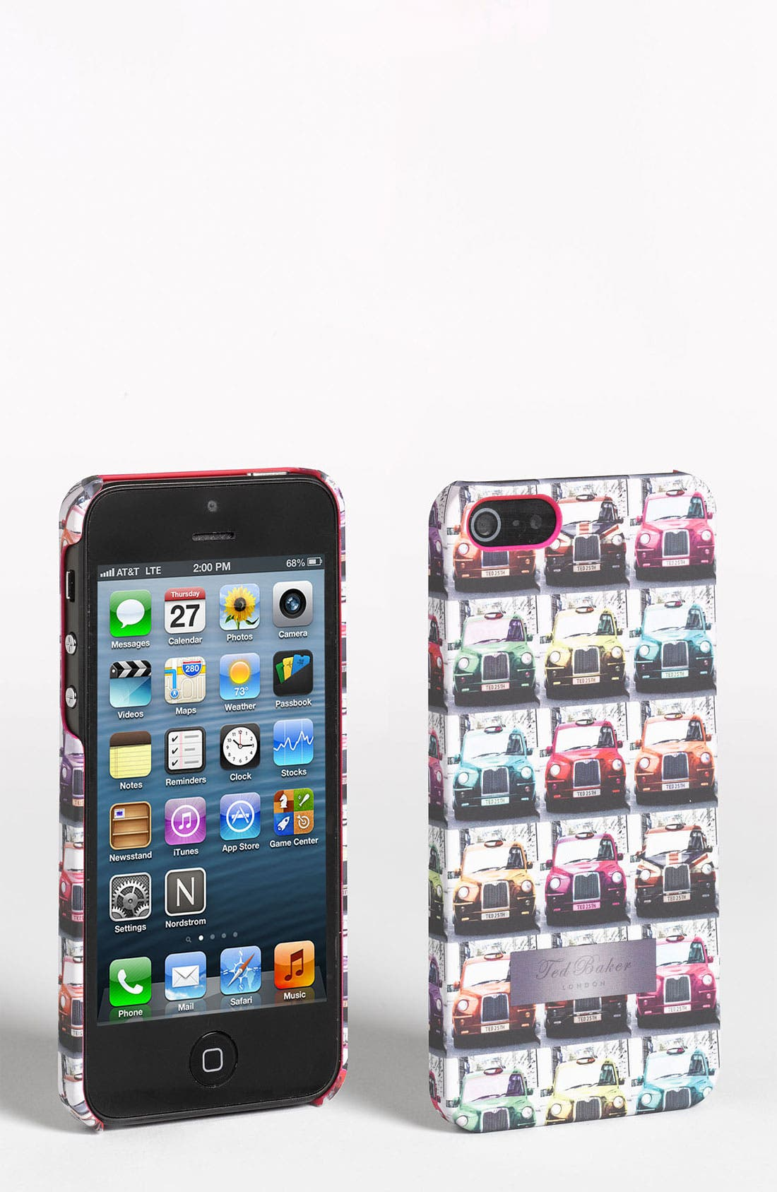 Alternate Image 1 Selected - Ted Baker London 'Taxi Cab' iPhone 5 Case