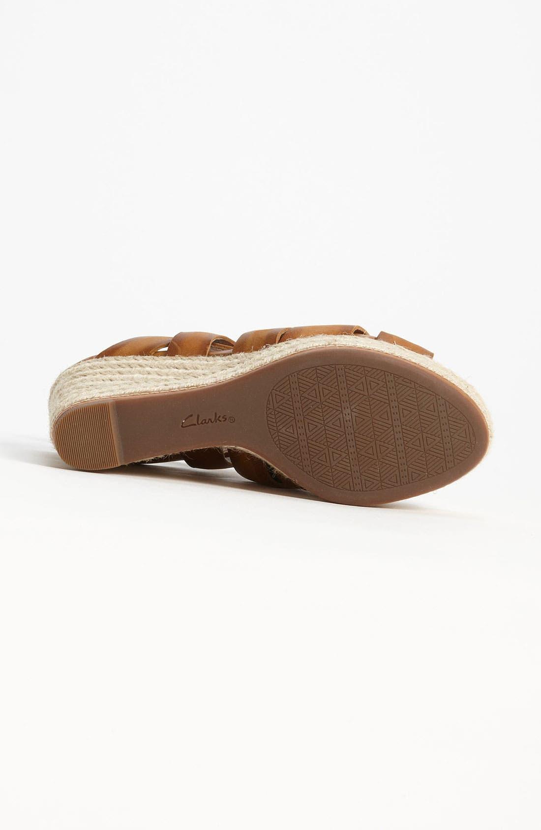Alternate Image 4  - Clarks® 'Amelia Drift' Sandal (Online Only)