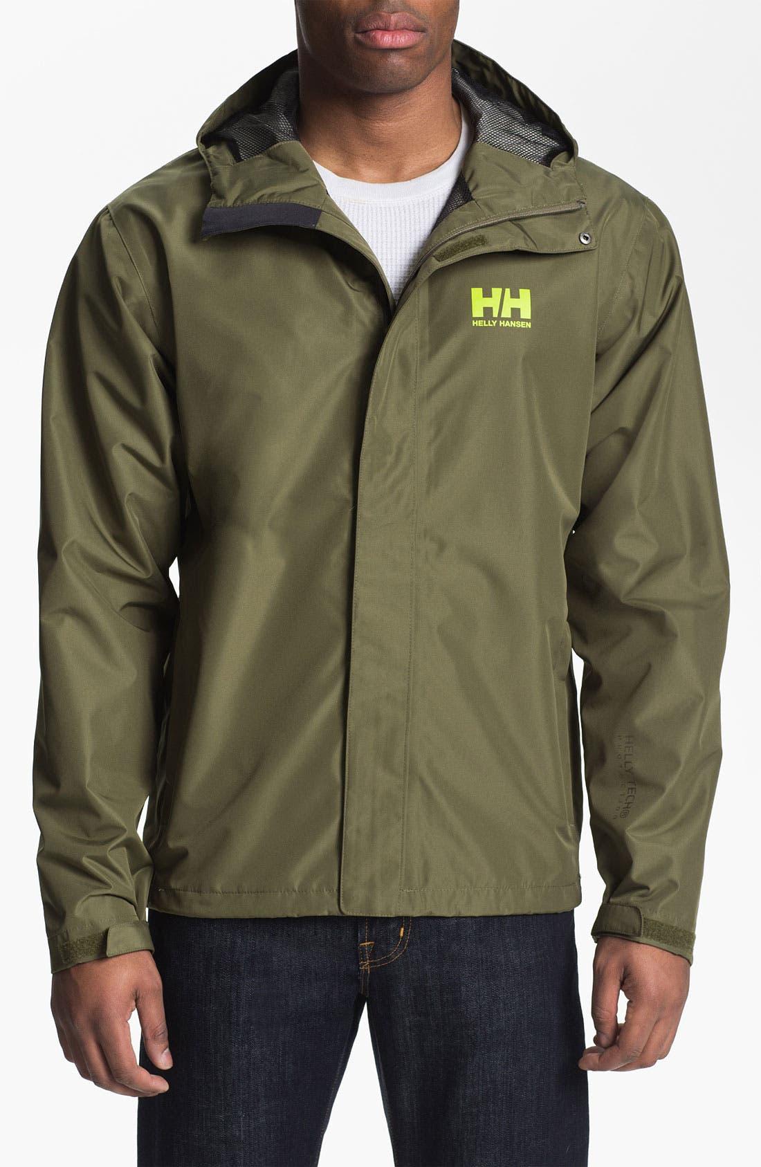 Alternate Image 1 Selected - Helly Hansen 'Seven J' Waterproof & Windproof Jacket