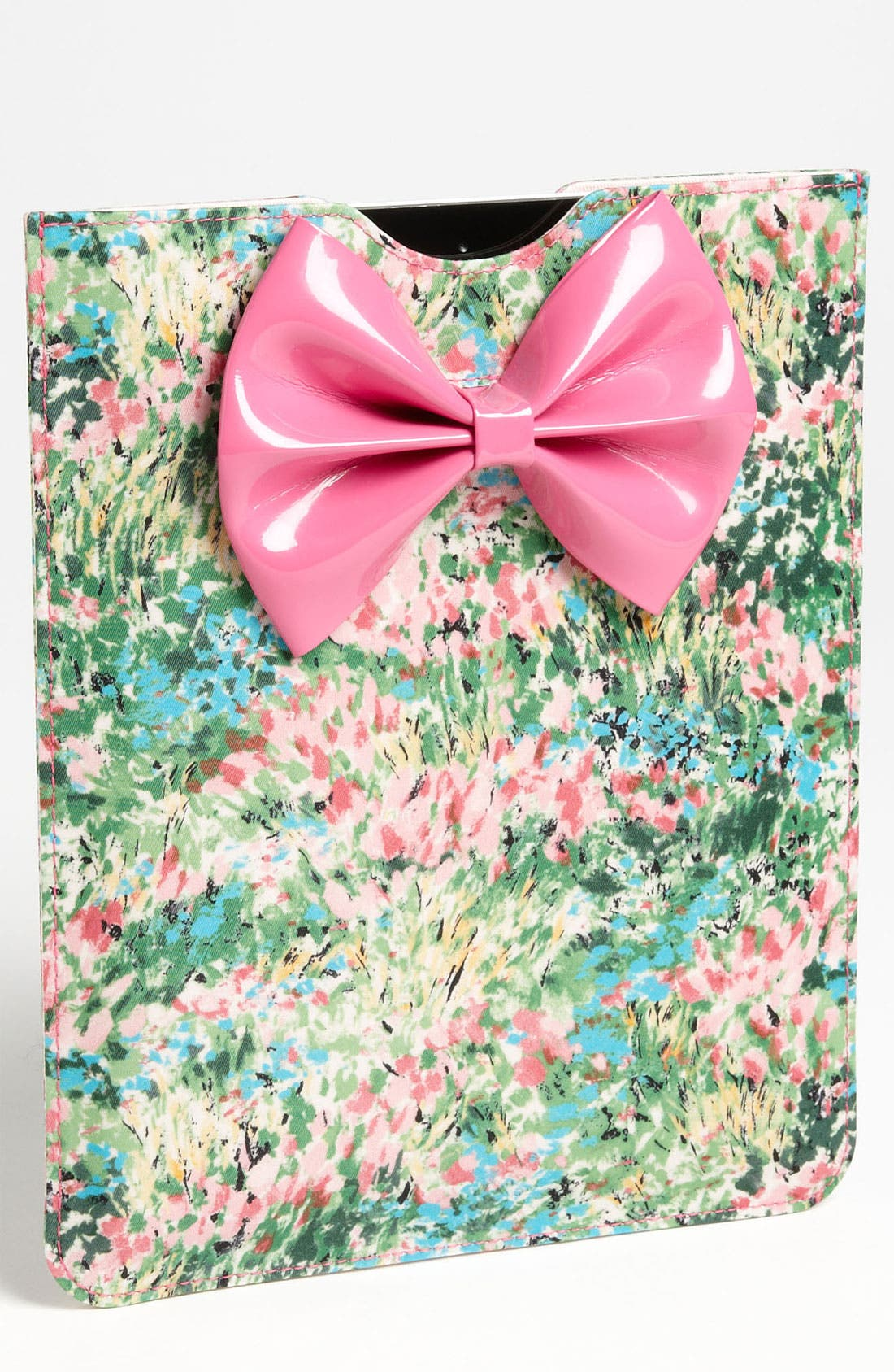 Alternate Image 1 Selected - RED Valentino 'Bow - Meadow' Print iPad Case