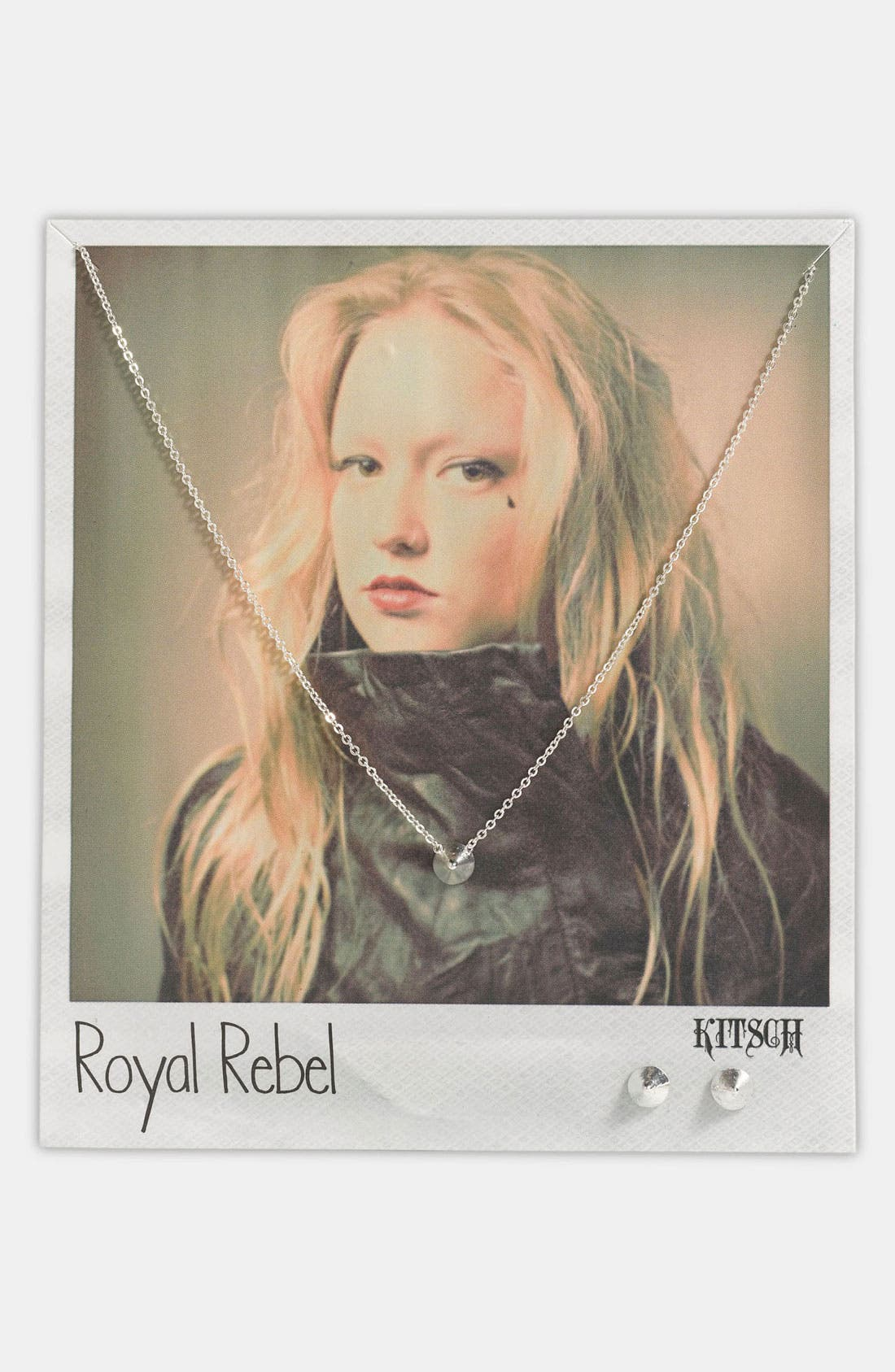 Main Image - Kitsch 'Royal Rebel' Necklace & Earrings