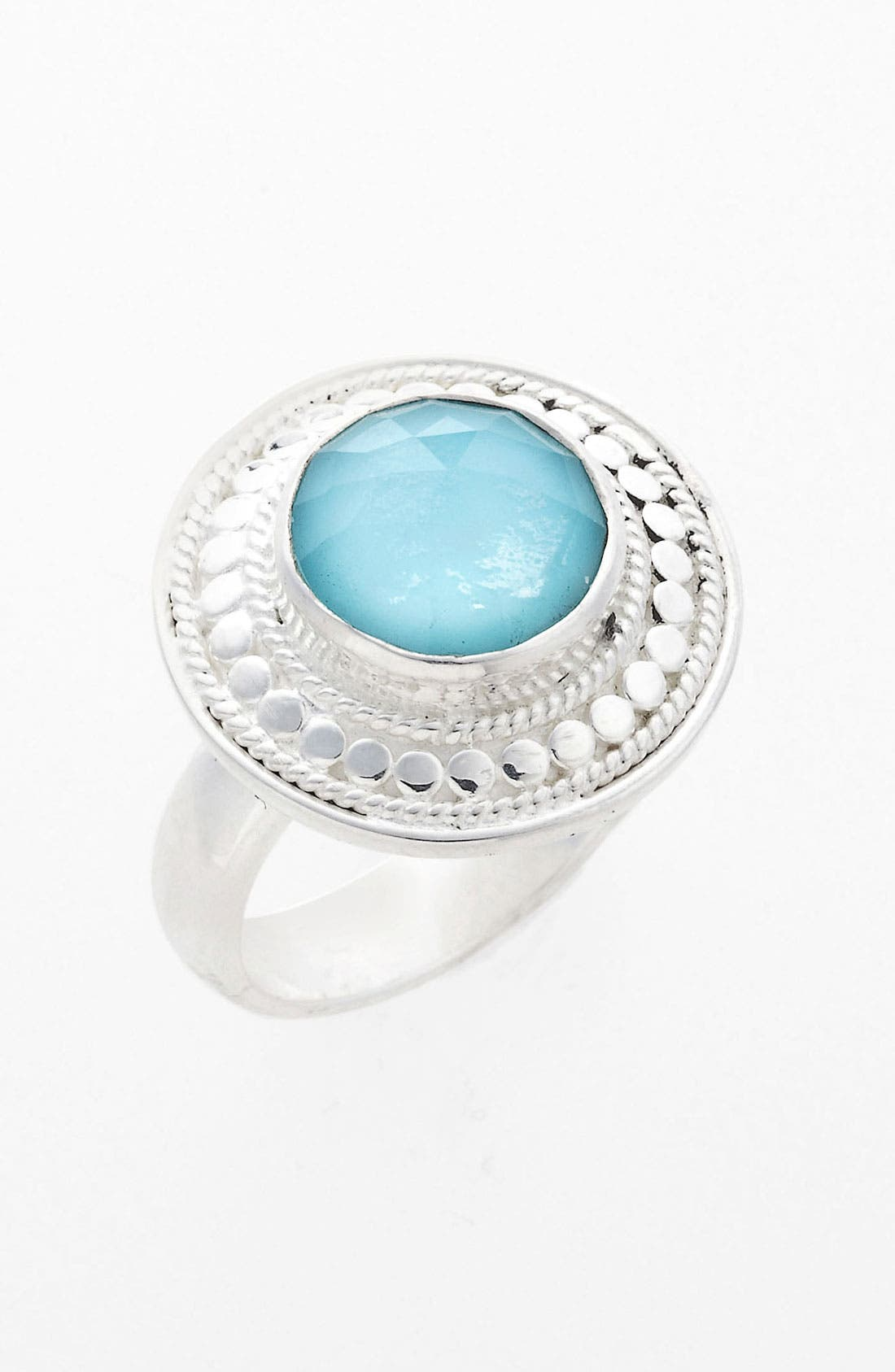 Alternate Image 1 Selected - Anna Beck 'Gili' Wire Rimmed Stone Ring (Online Only)