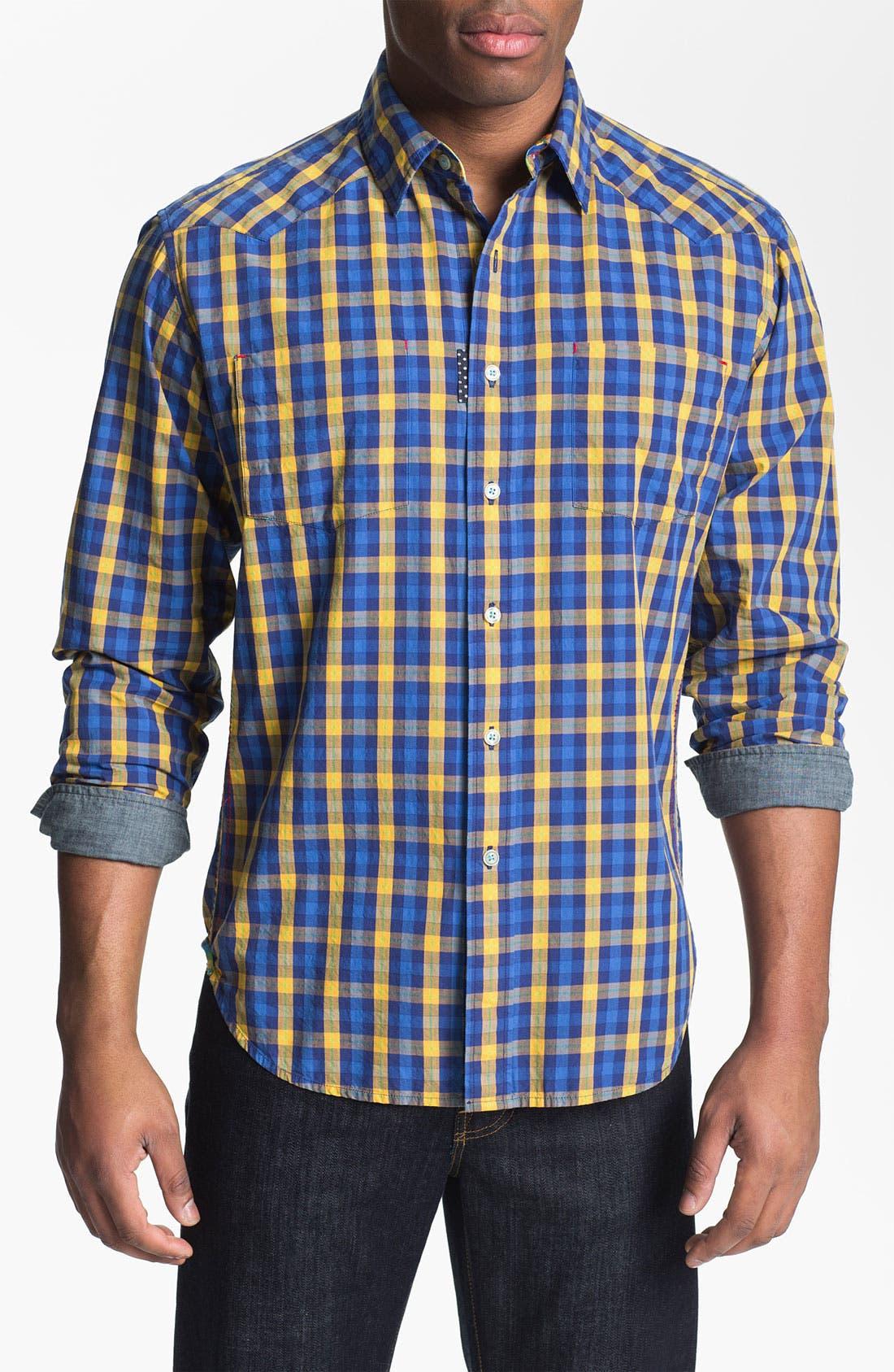 Alternate Image 1 Selected - Robert Graham 'Malevich' Regular Fit Sport Shirt