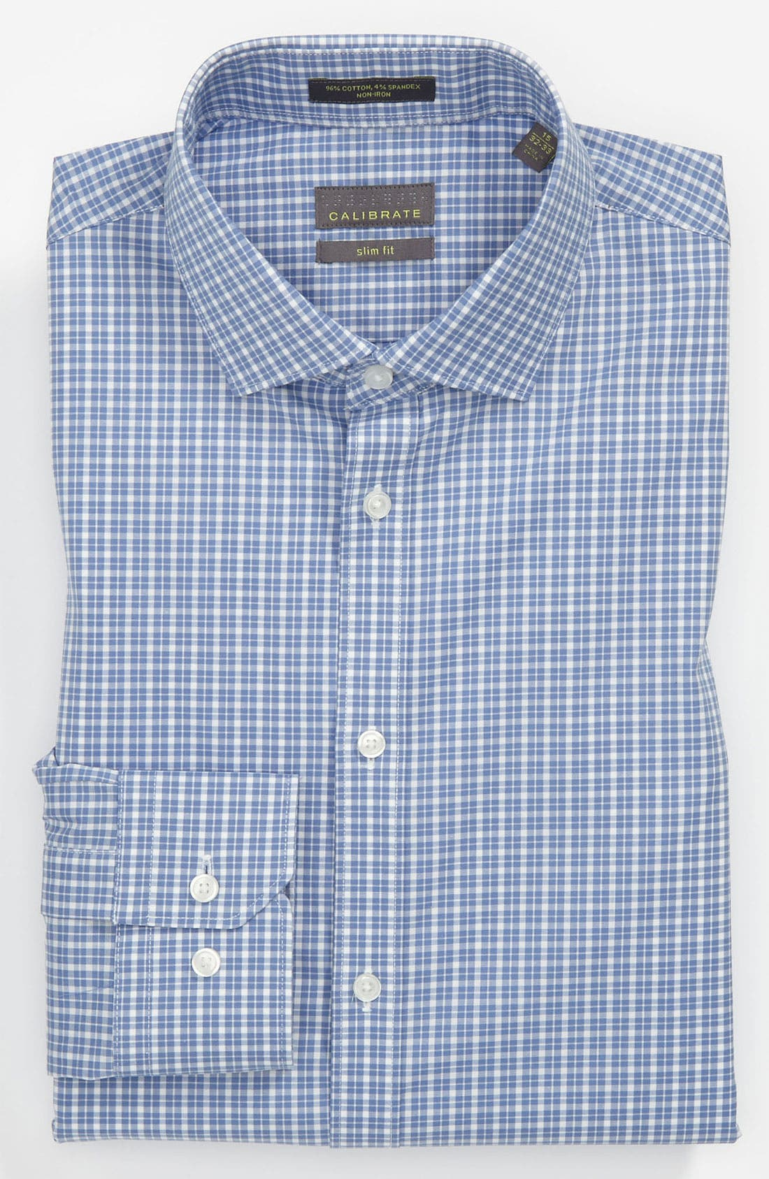 Alternate Image 1 Selected - Calibrate Slim Fit Non-Iron Dress Shirt