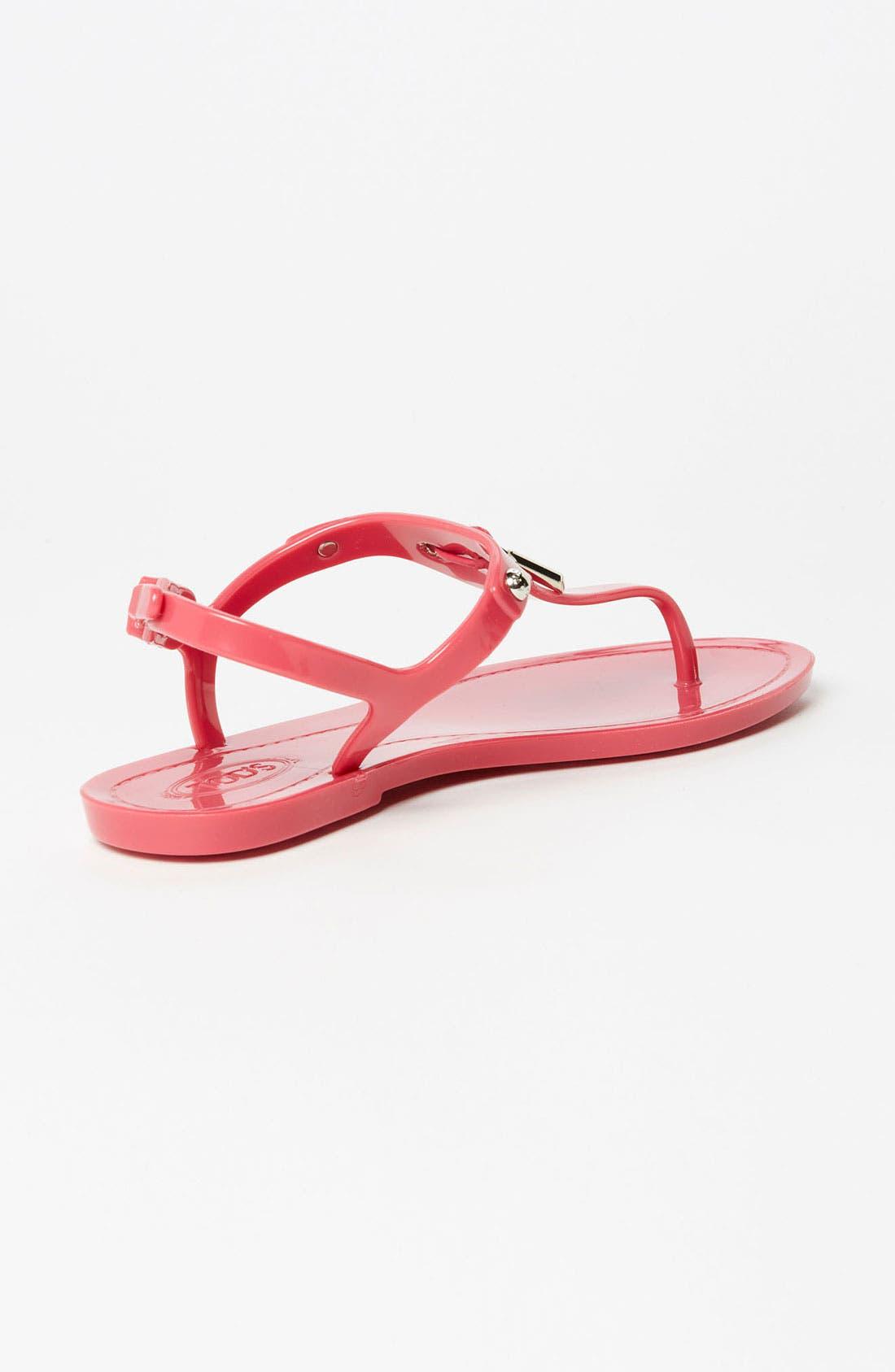 Alternate Image 2  - Tod's Jelly Thong Sandal
