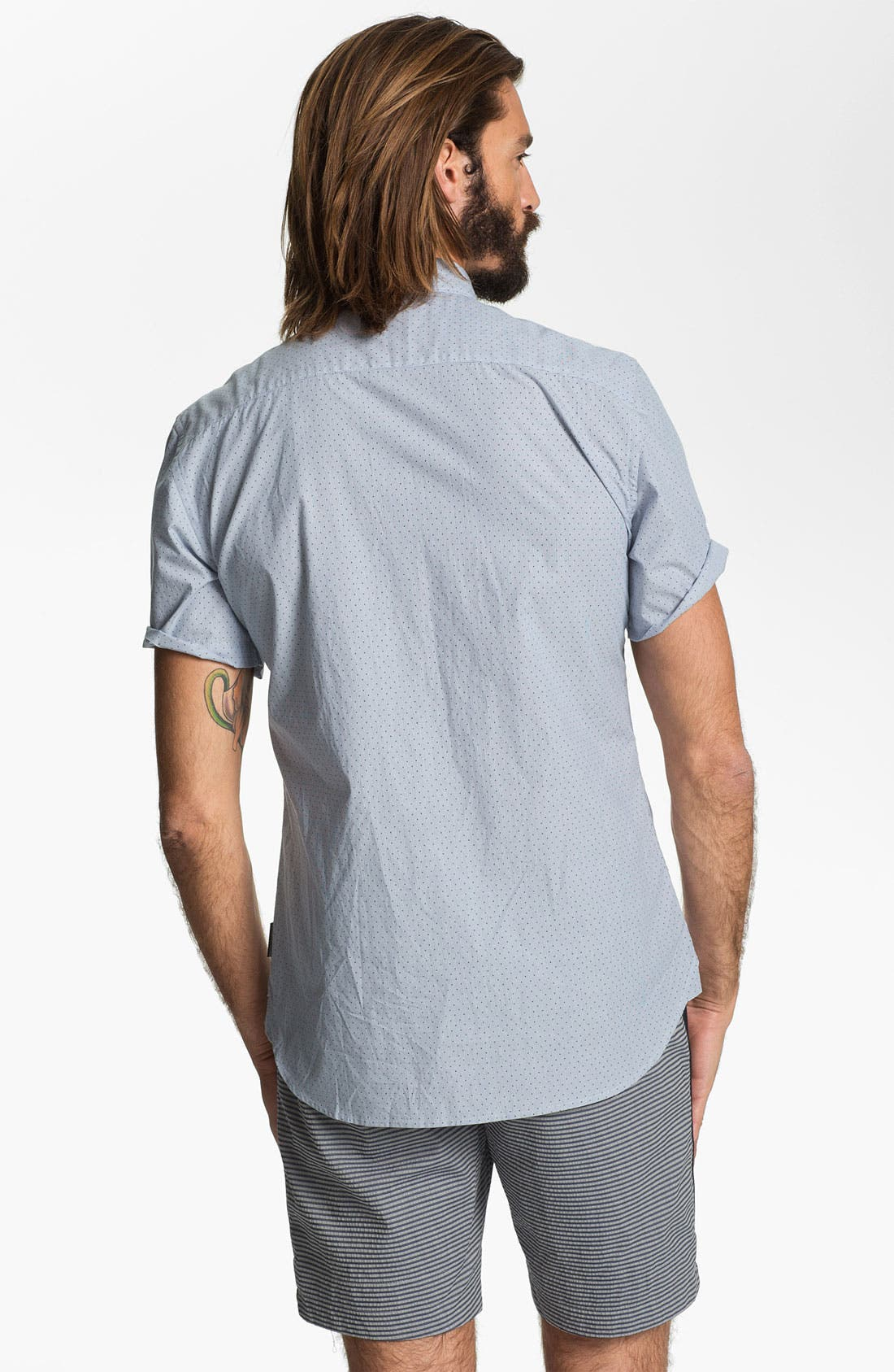Alternate Image 2  - French Connection Regular Fit Sport Shirt (Online Only)