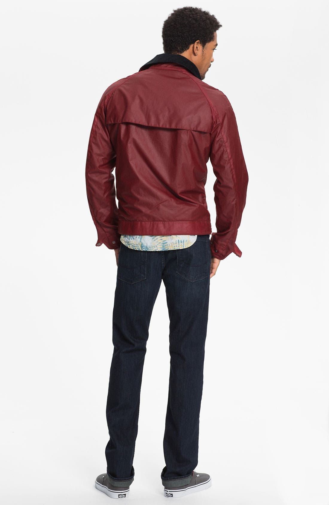 Alternate Image 6  - PAIGE 'Federal' Slim Straight Leg Jeans (Stingray)