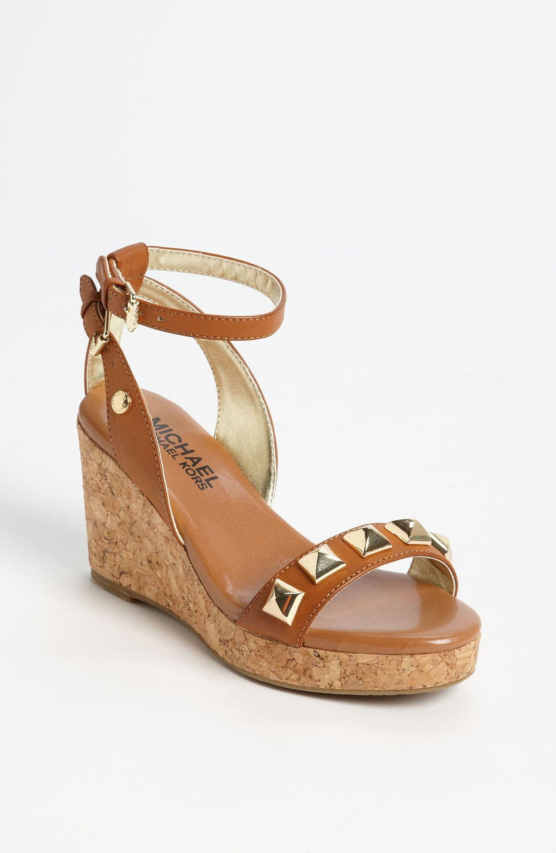 Alternate Image 1 Selected - MICHAEL Michael Kors 'Jalita' Wedge Sandal (Little Kid & Big Kid)