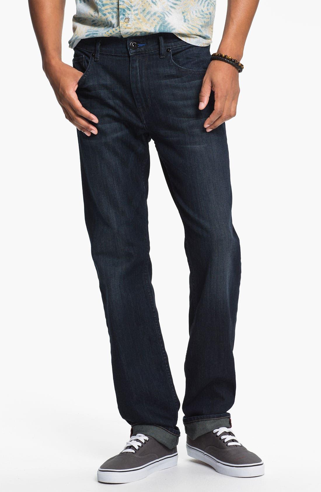 Alternate Image 2  - PAIGE 'Federal' Slim Straight Leg Jeans (Stingray)