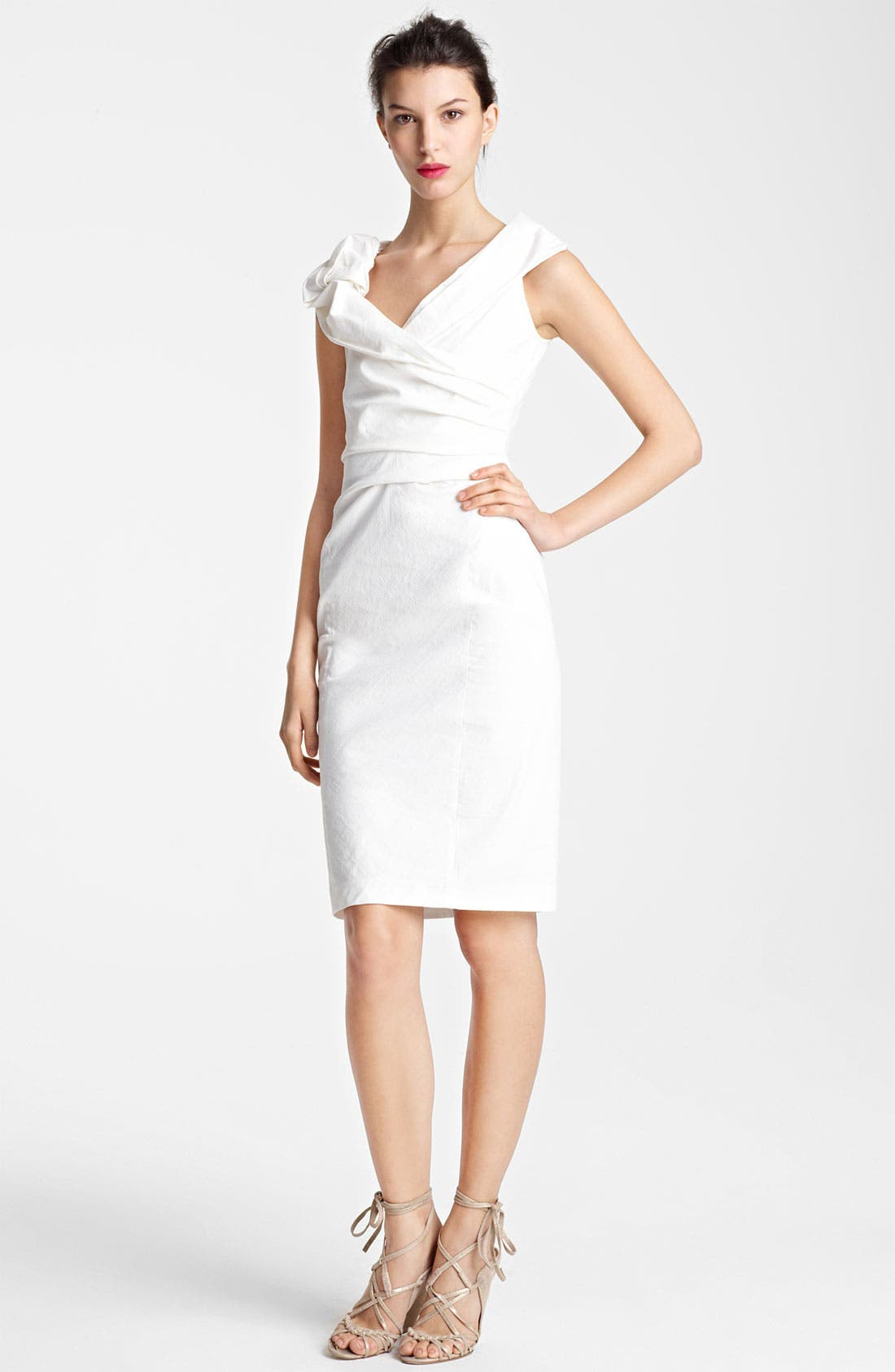 Alternate Image 1 Selected - Donna Karan Collection Canvas Dress