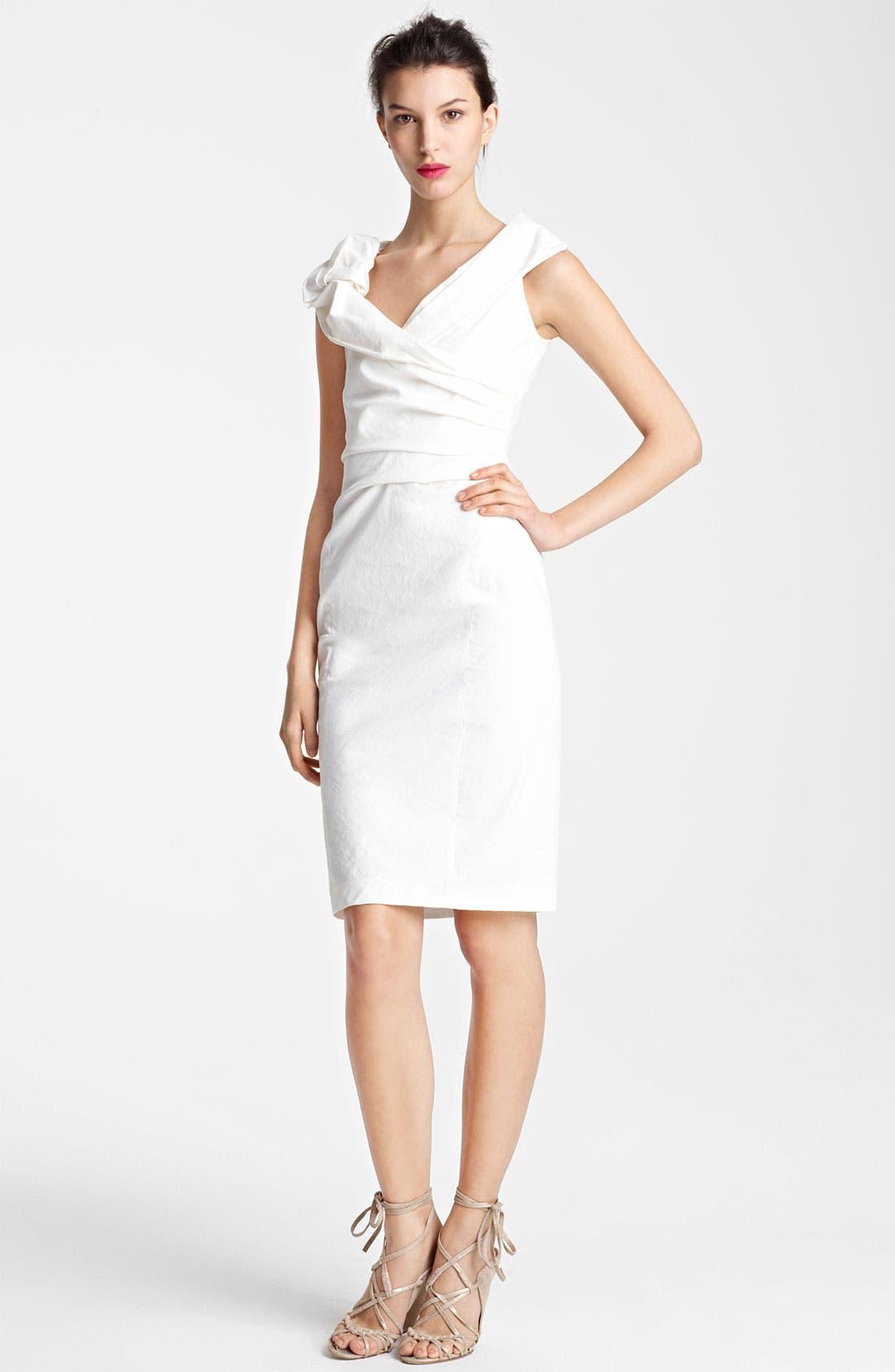 Main Image - Donna Karan Collection Canvas Dress