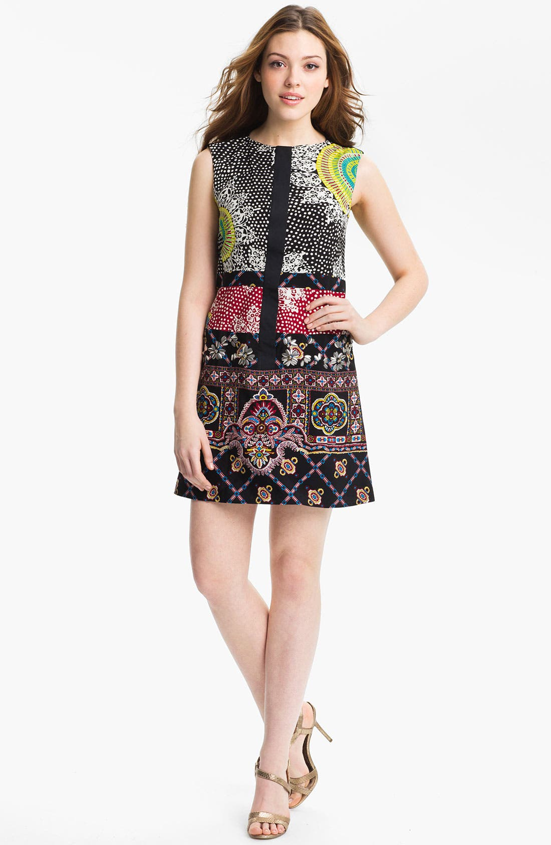 Main Image - Nanette Lepore 'Rodeo' Embellished Shift Dress