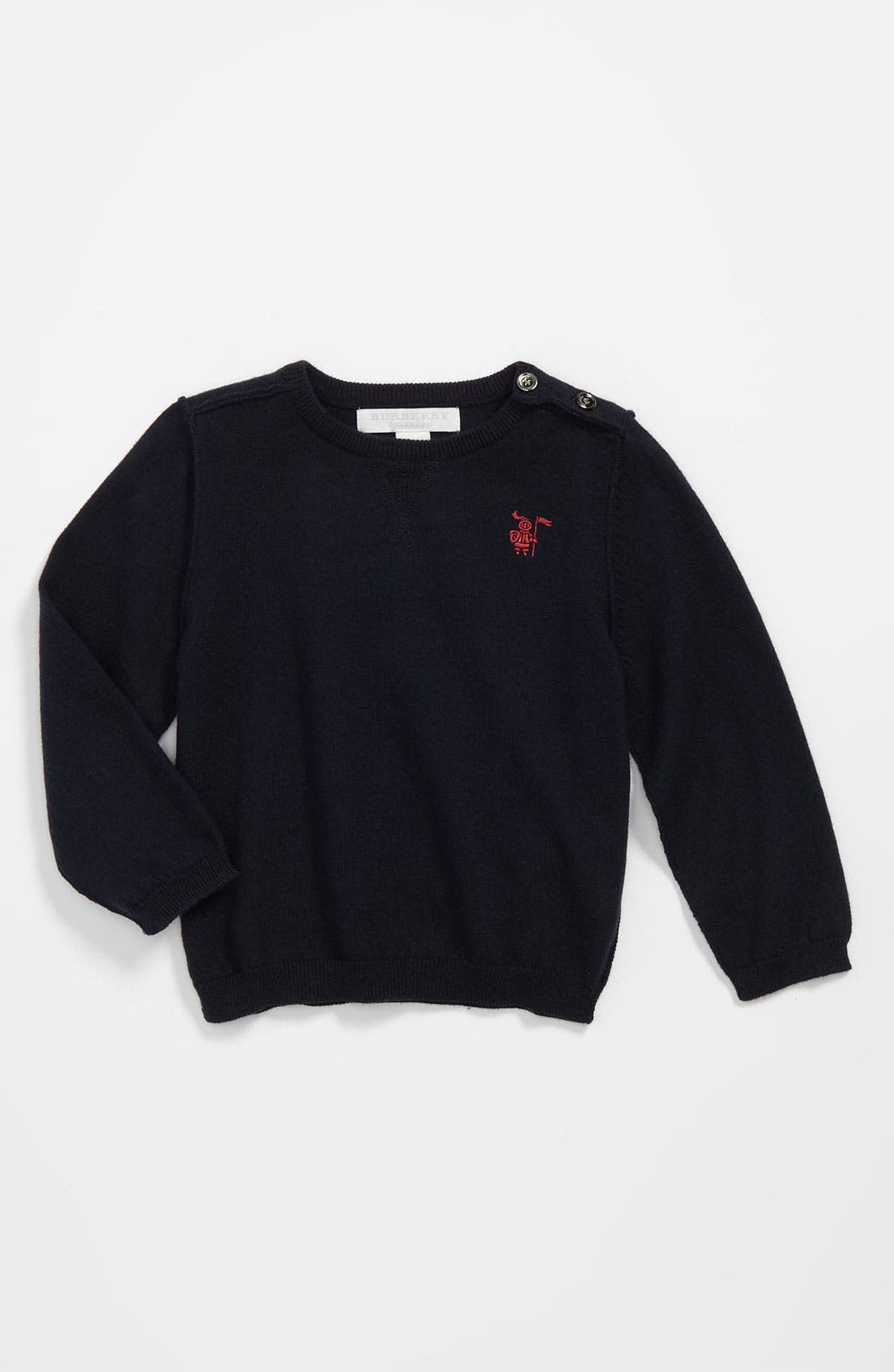 Alternate Image 1 Selected - Burberry 'Mini Kane' Sweater (Toddler)
