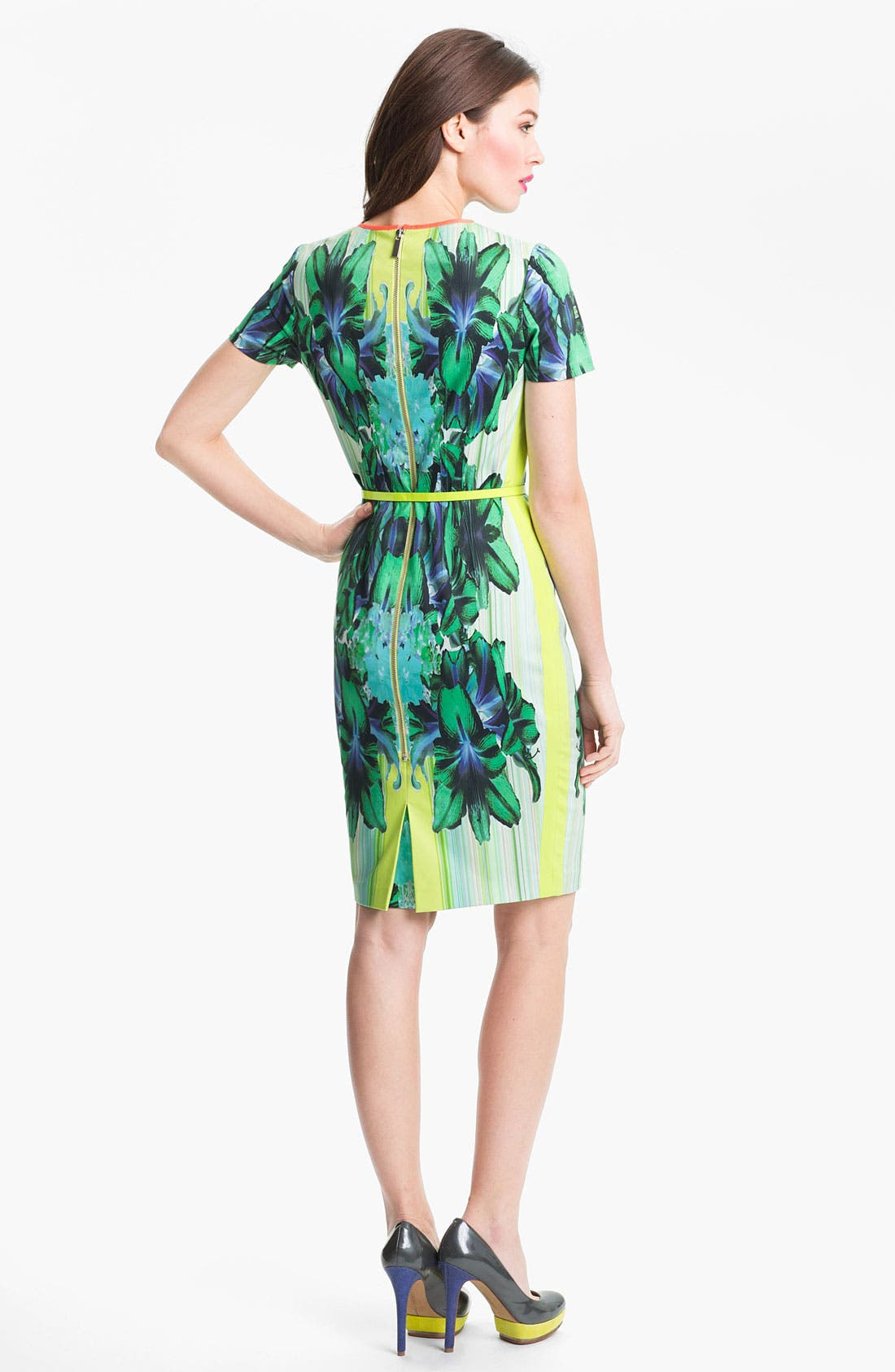 Alternate Image 2  - Elie Tahari 'Angie - Mirror Orchid' Dress
